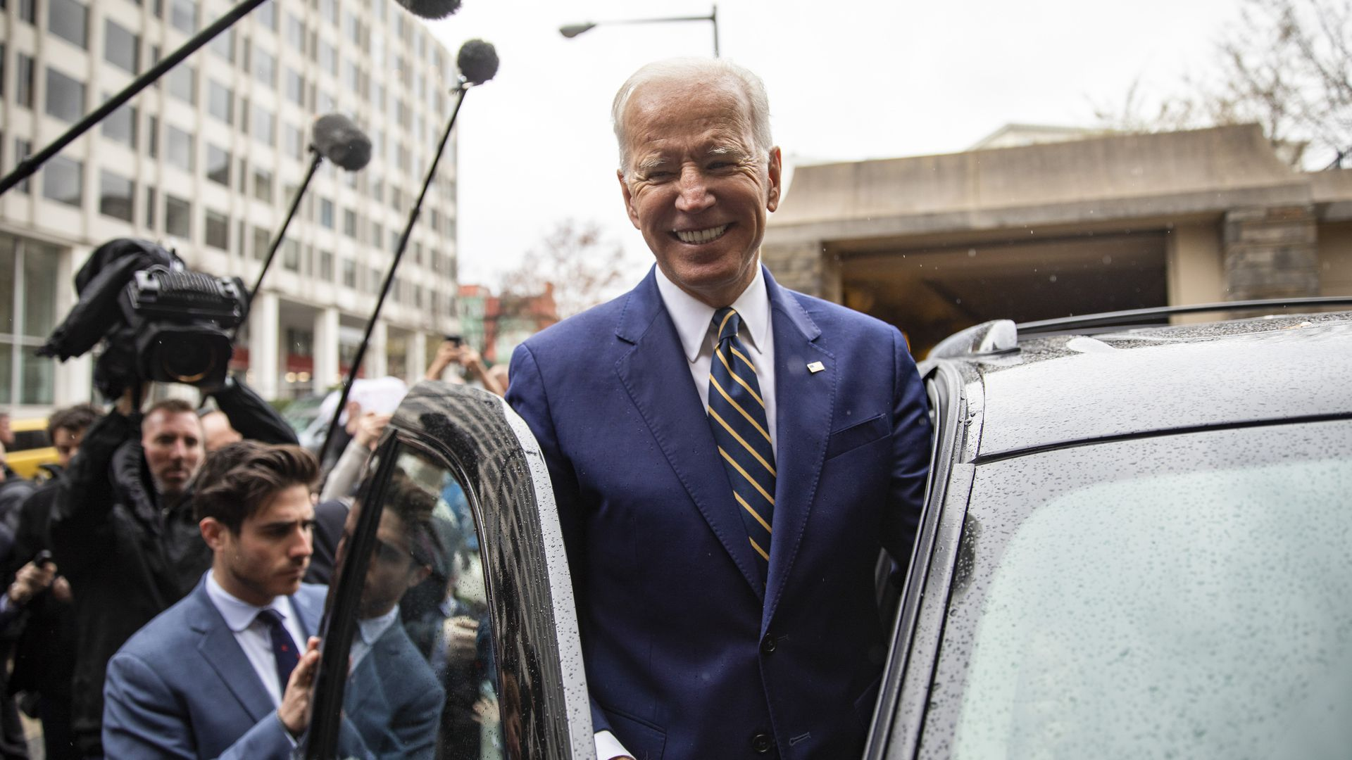 Ending months of speculation, Joe Biden launches his 2020 presidential campaign