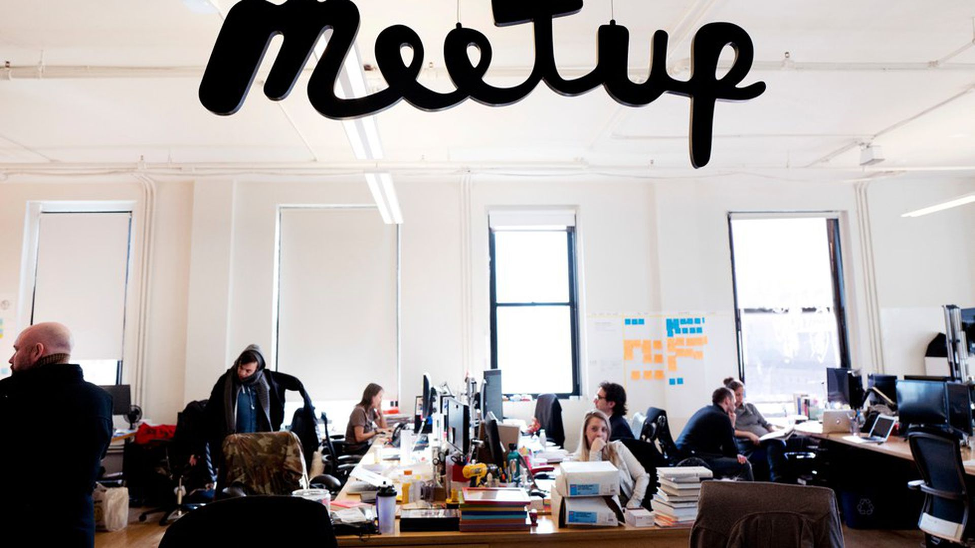 WeWork keeps up buying spree with Meetup - Axios