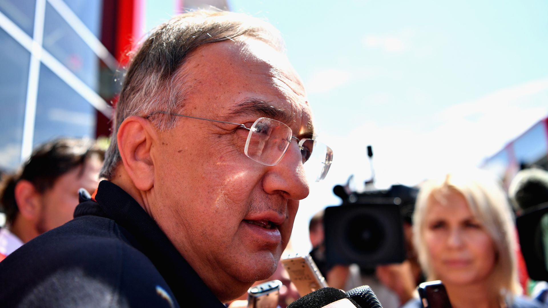 Fiat Chrysler CEO Sergio Marchionne.