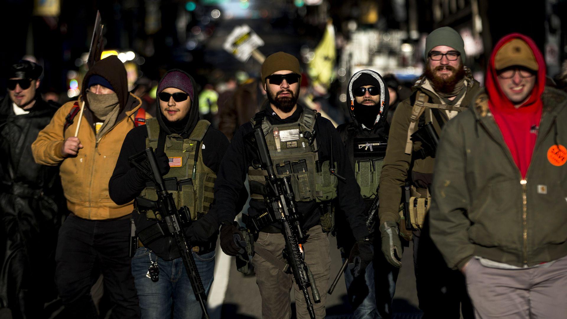 Gun rights advocates in Richmond
