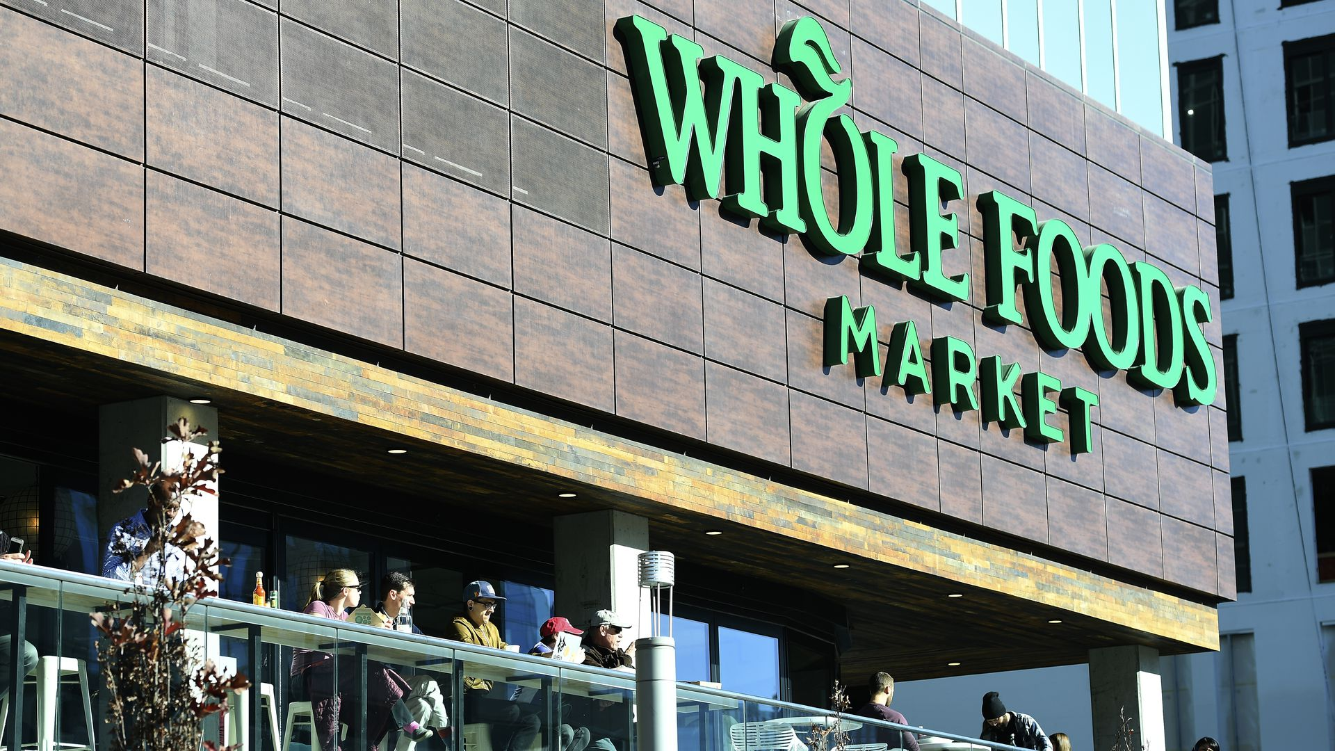 A Whole Foods store in downtown Denver, Colorado.