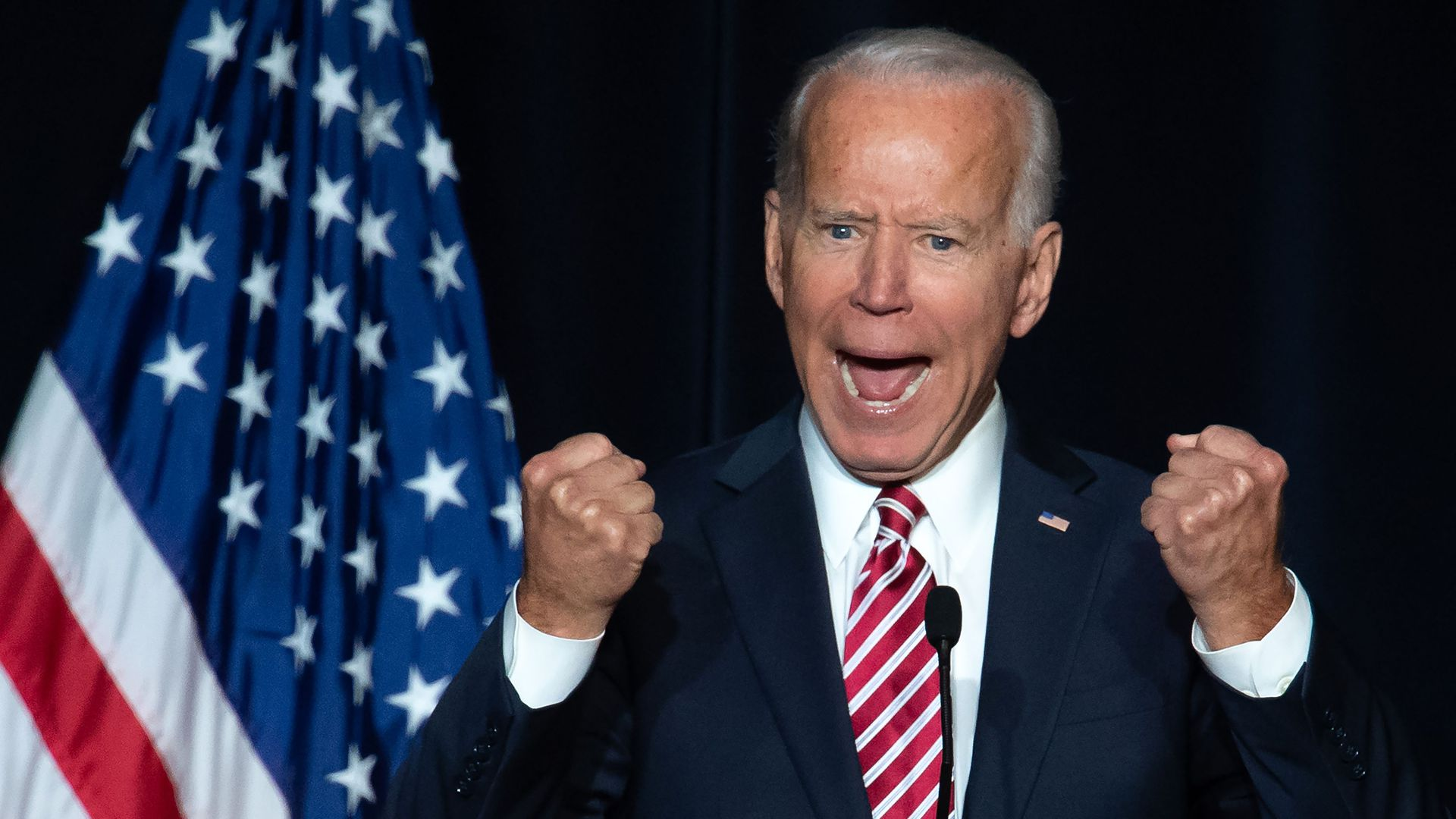 Former Vice President Joe Biden is an early front-runner for the Democratic presidential nomination in the latest ABC News/Washington Post poll.