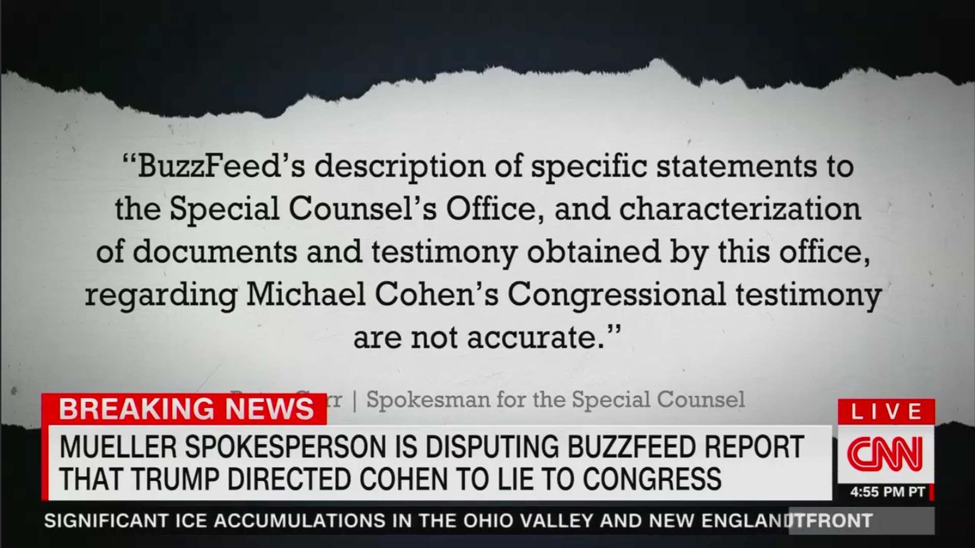 CNN Mueller statement