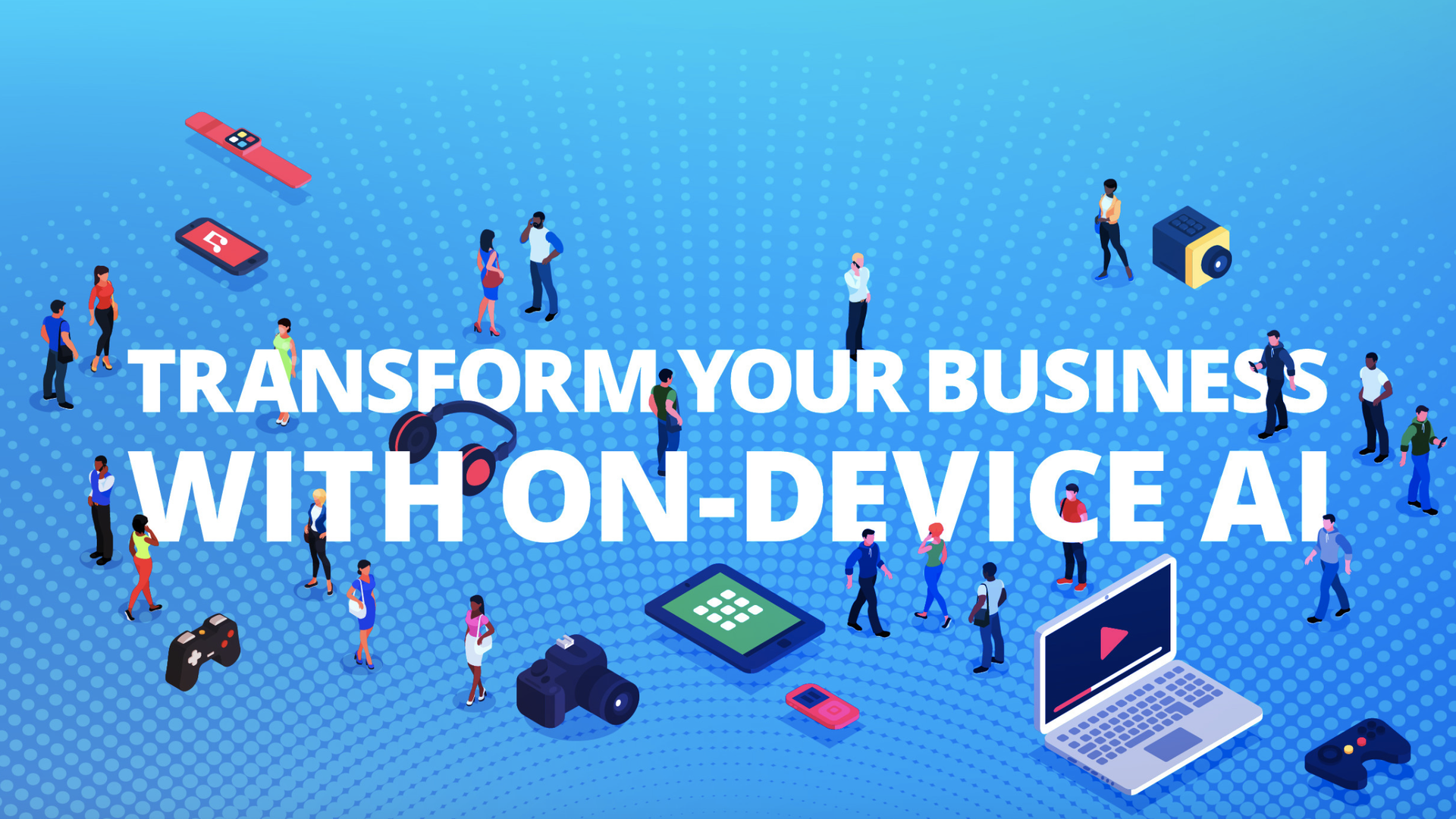 "An image from the Xnor.ai Website that says ""transform your business with on-device AI"""
