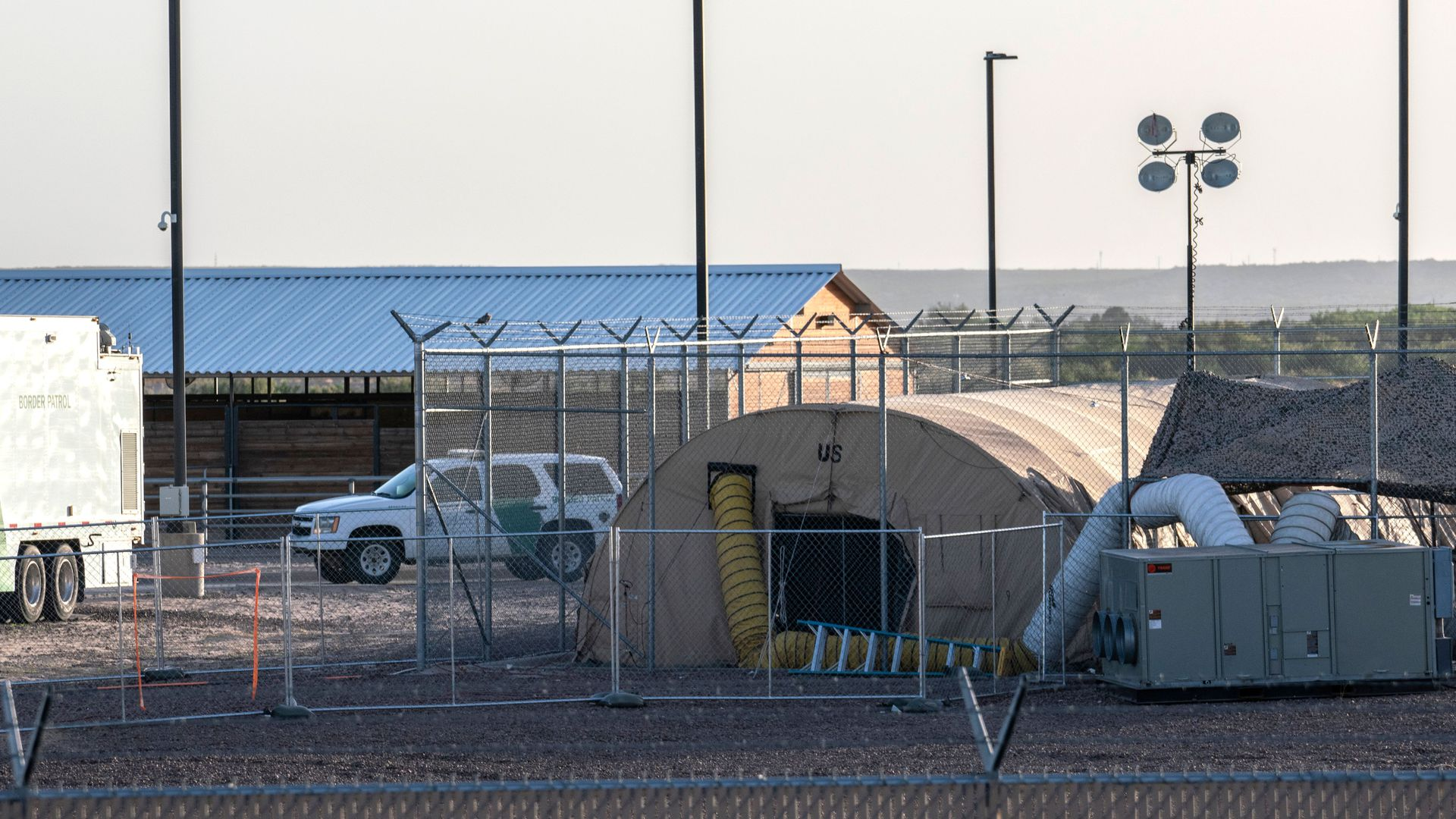 Border facility in Texas