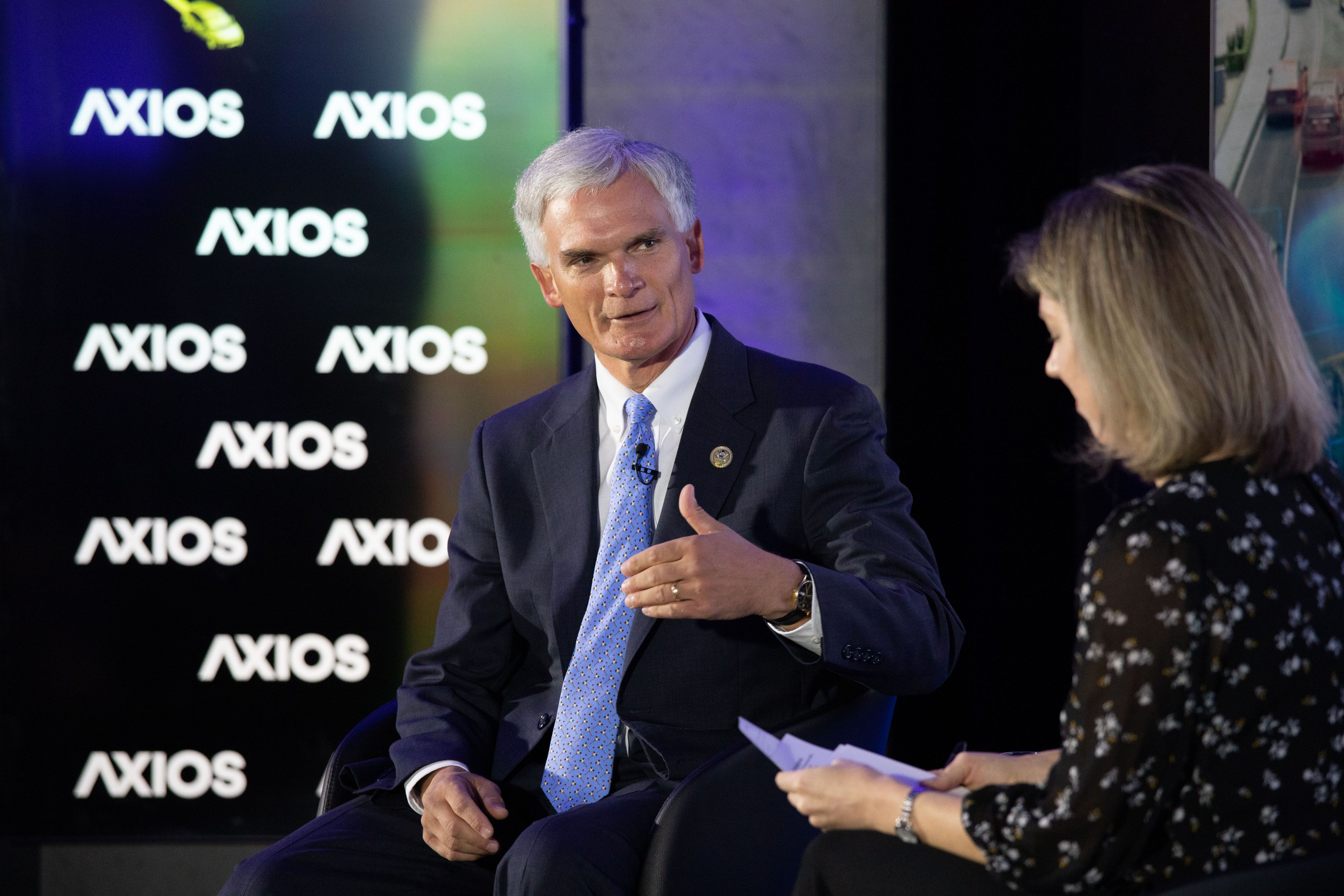 Rep. Robert Latta on the Axios stage