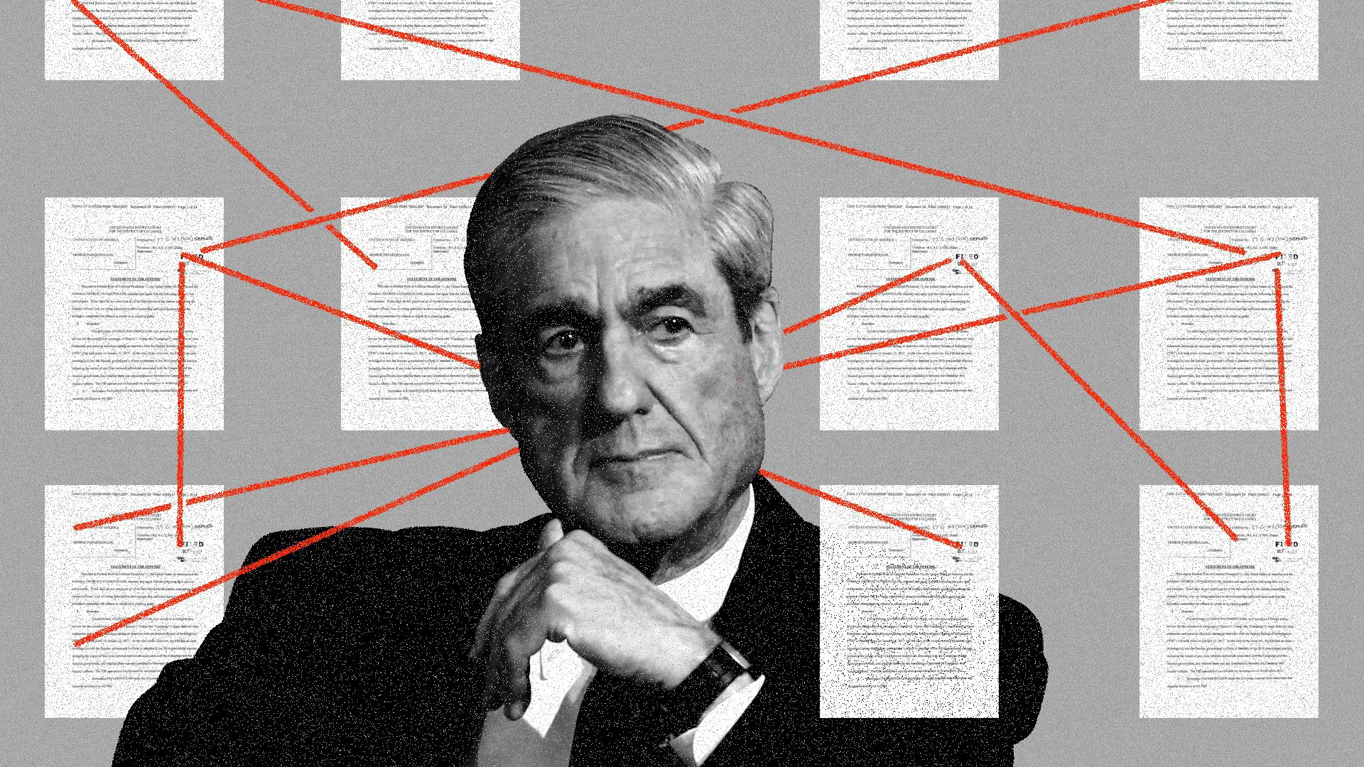 Mueller's breadcrumbs suggest he has the goods