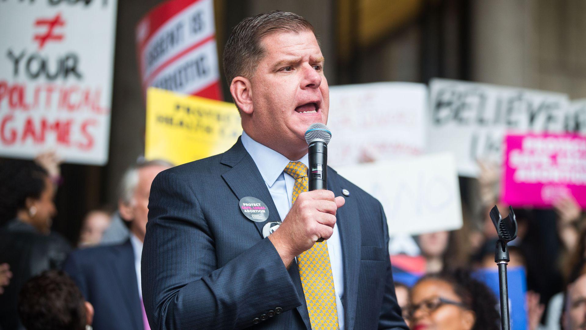 Biden selects Boston Mayor Marty Walsh ...