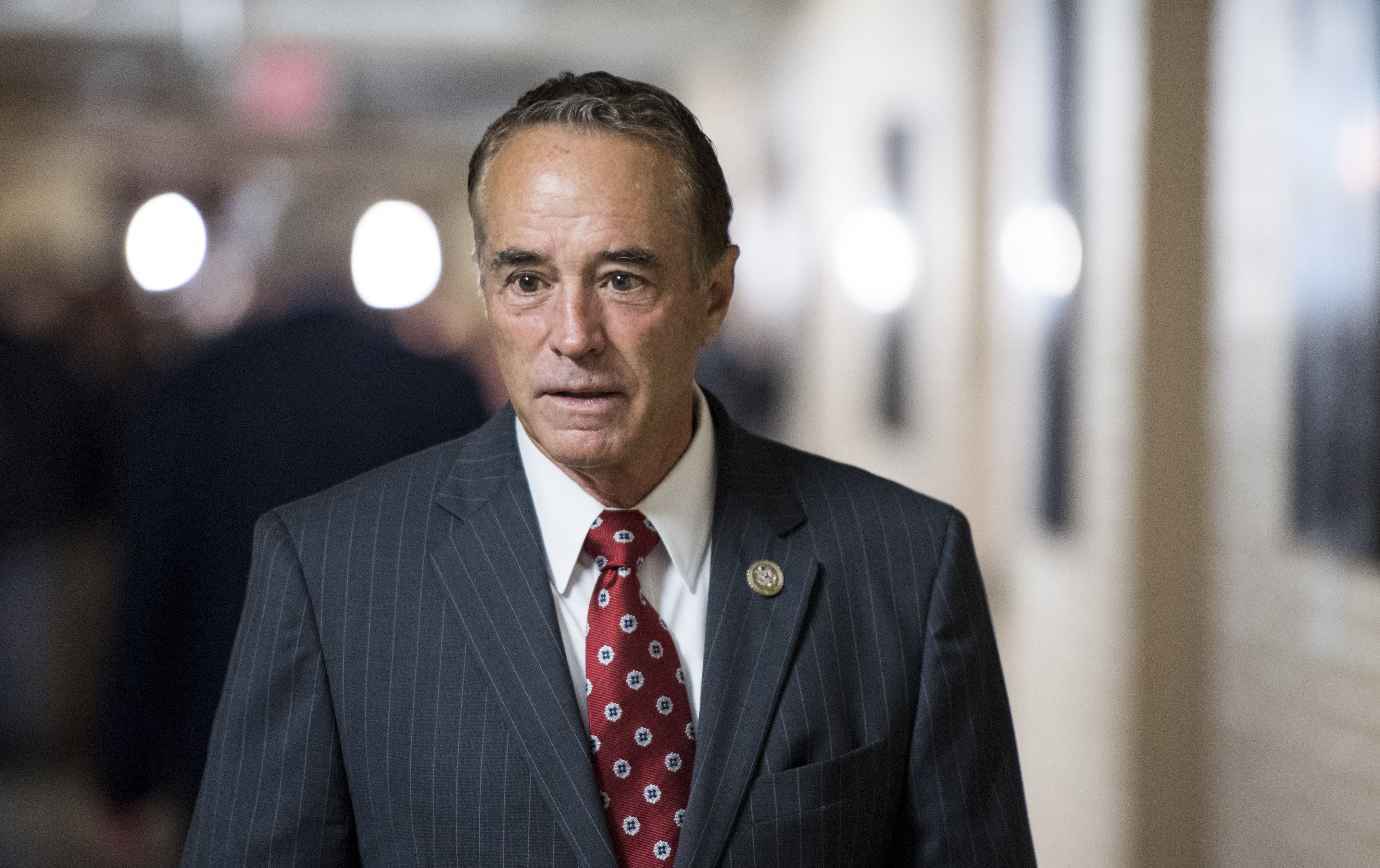 Prosecutors recommend almost 5 years in prison for former GOP Rep. Chris Collins