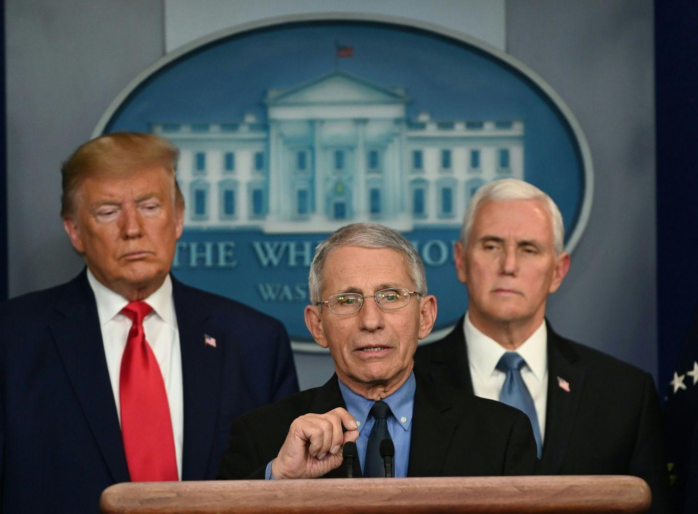 Republican senators defend Fauci as Trump escalates attacks