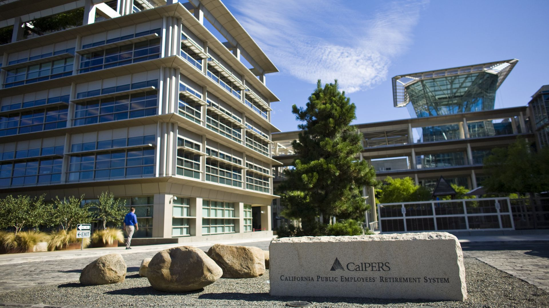 CalPERS headquarters in Sacramento.