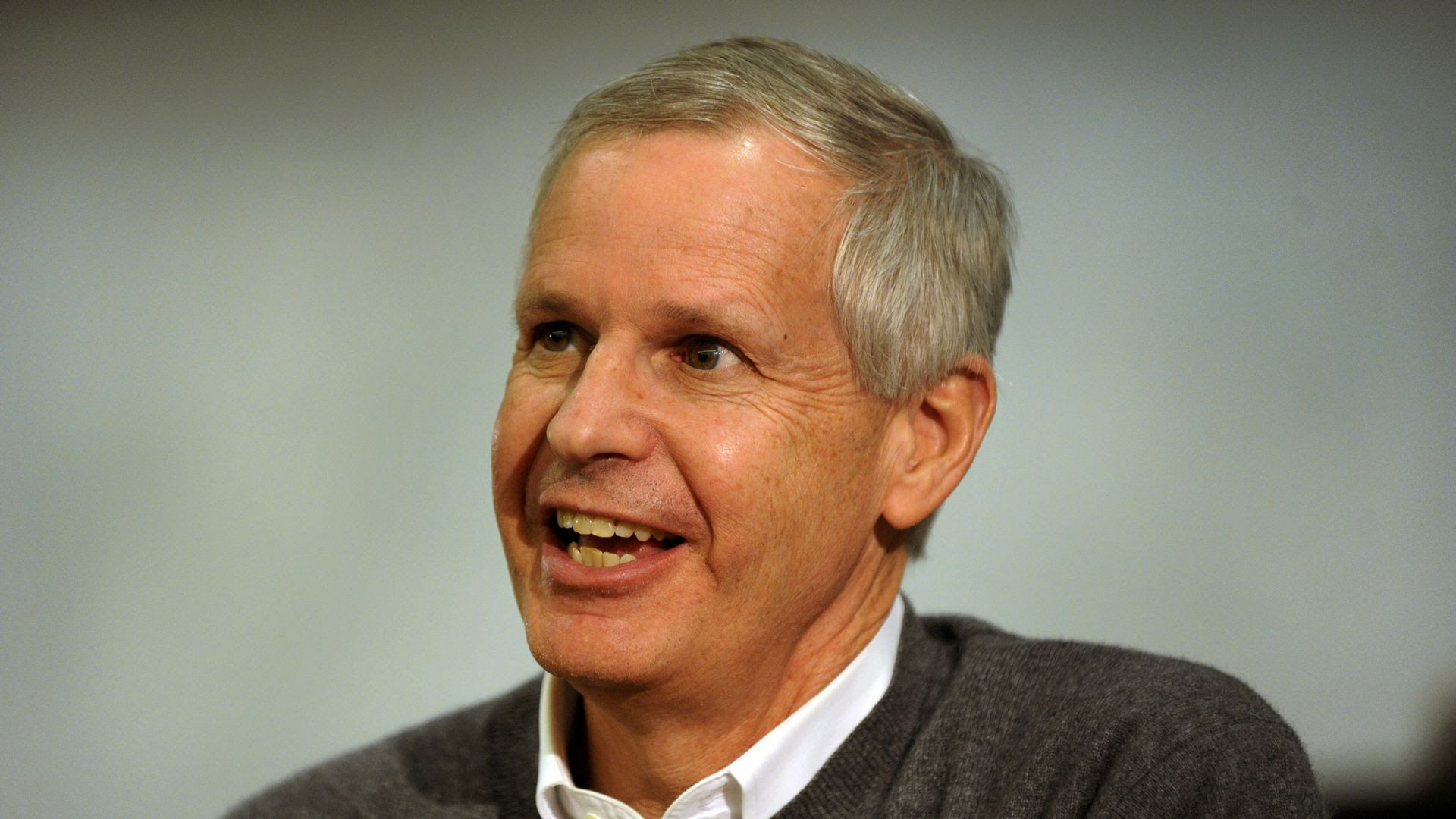Dish Network chairman Charlie Ergen speaking at the University of Colorado in 2012. Photo: Karl Gehring/The Denver Post via Getty Images