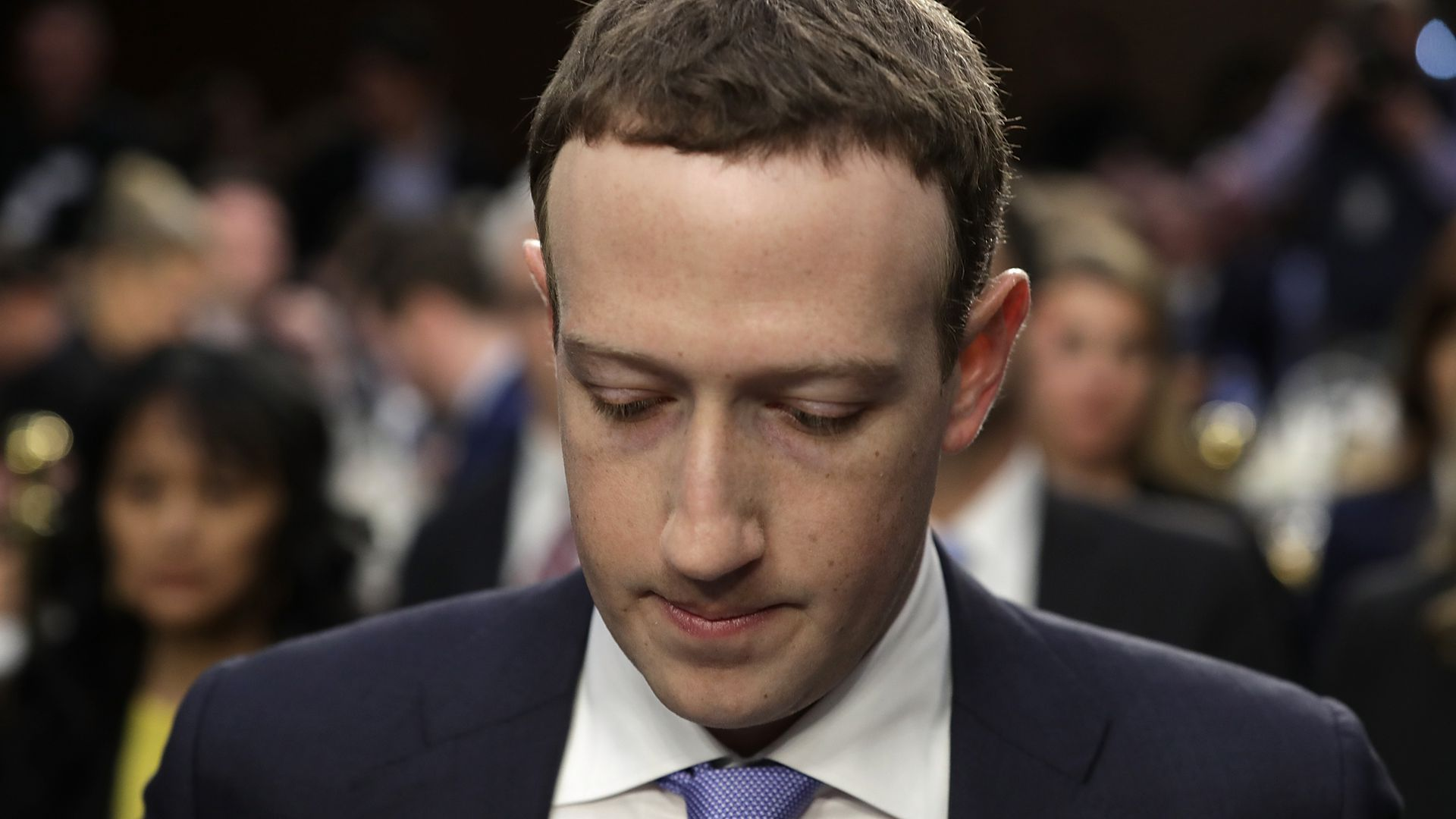 Mark Zuckerberg closeup