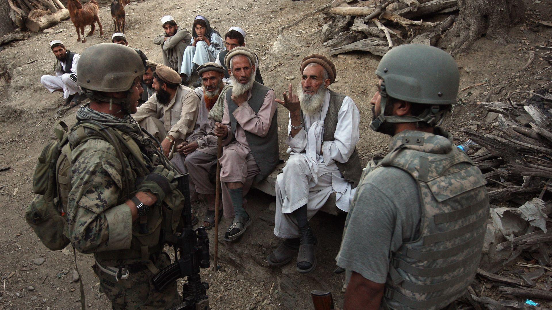U.S. to evacuate some Afghans who helped troops before withdrawal - Axios