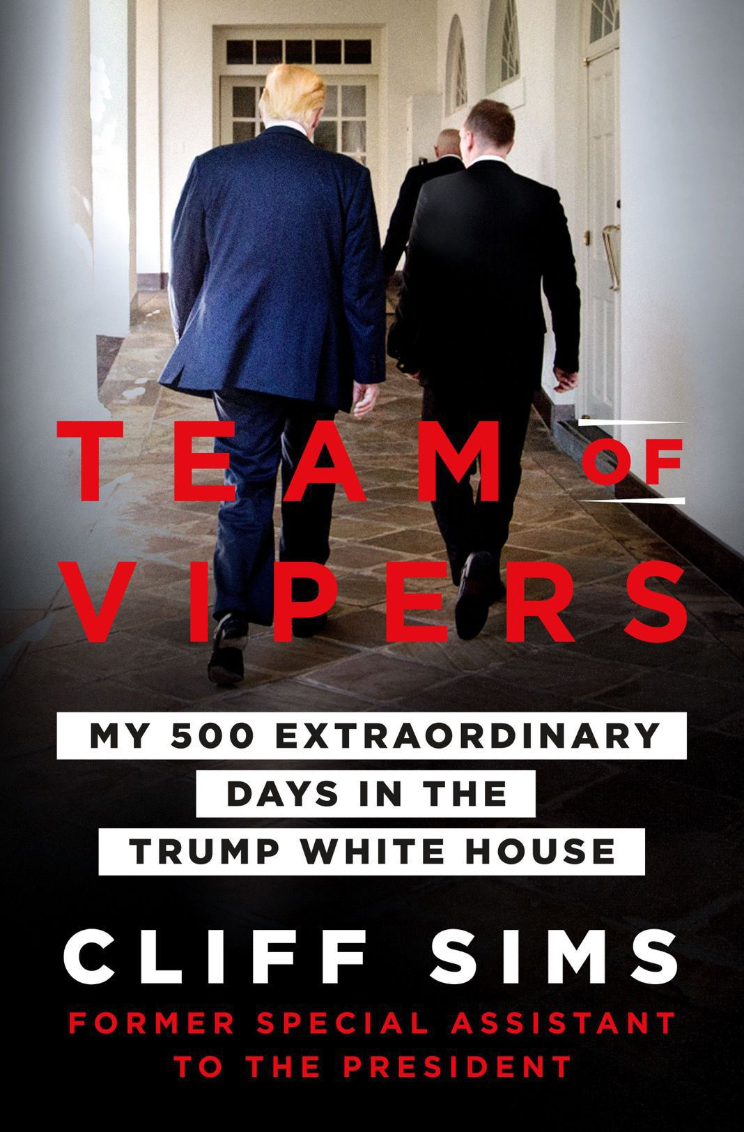Cover of new 'Team of Vipers' book from former White House staffer Cliff Sims