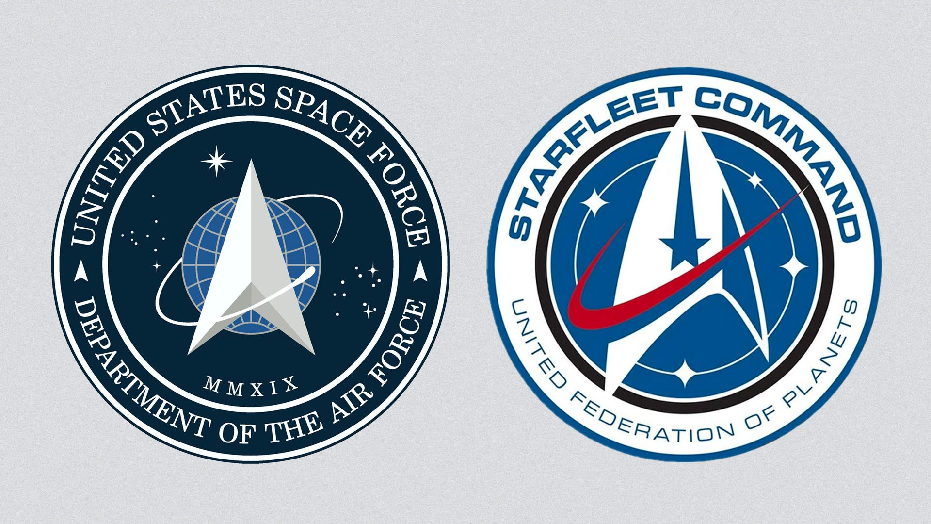 Trump's Space Force gets a new, recognizable logo