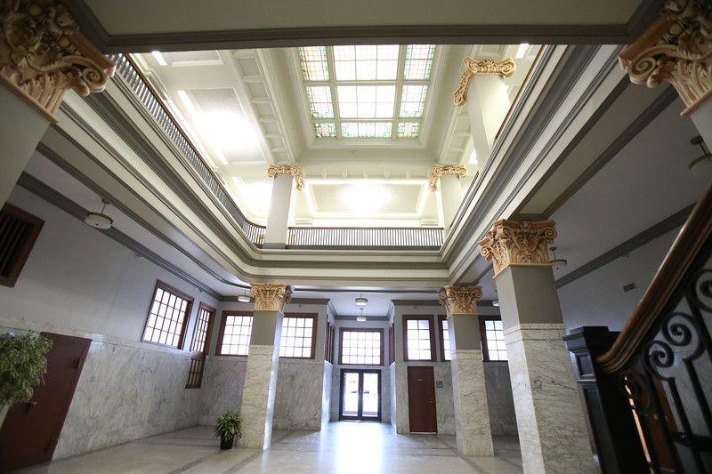 The atrium at 321 East Walnut Street