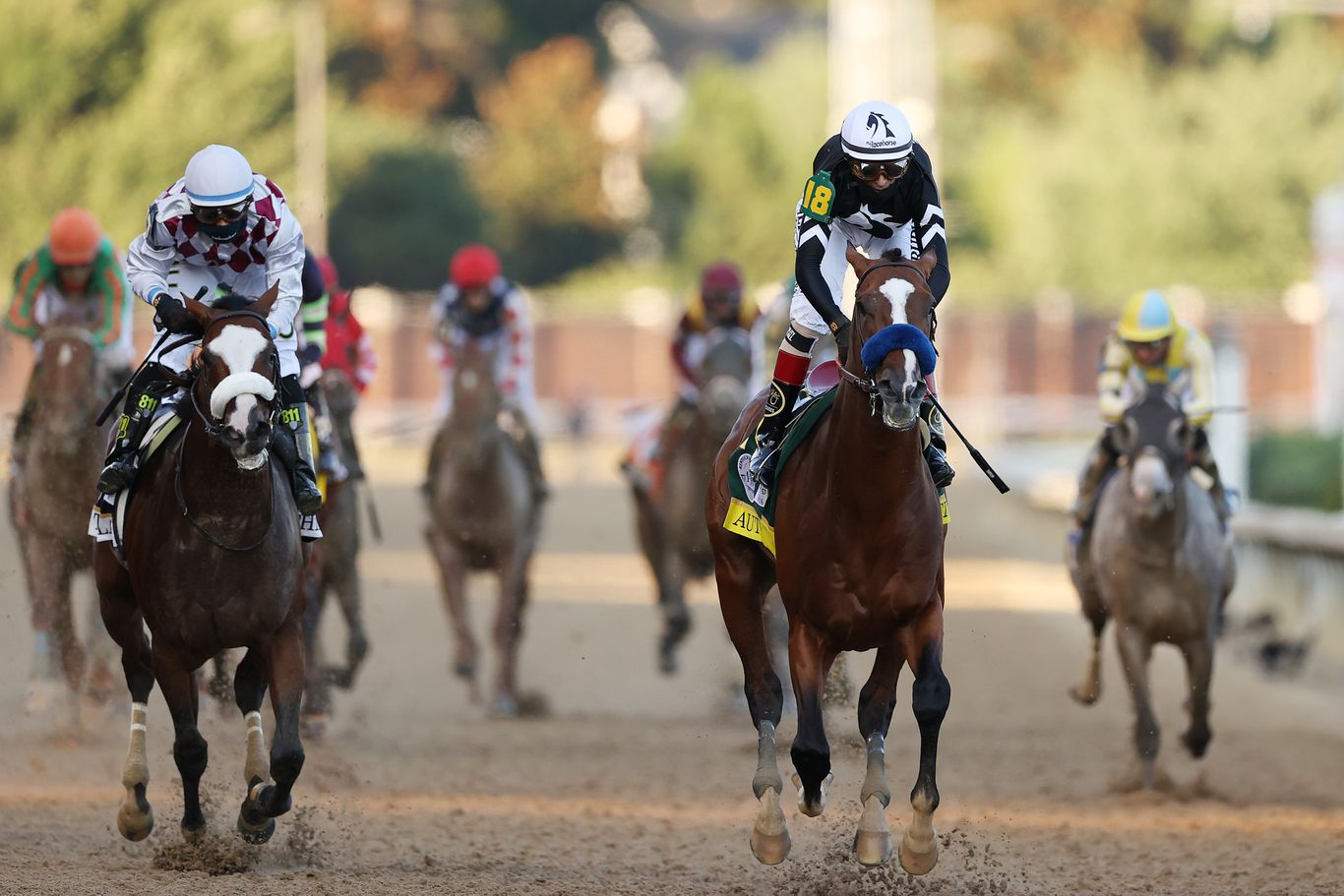 In photos: Authentic wins Kentucky Derby amid protests, no fans in the stands thumbnail