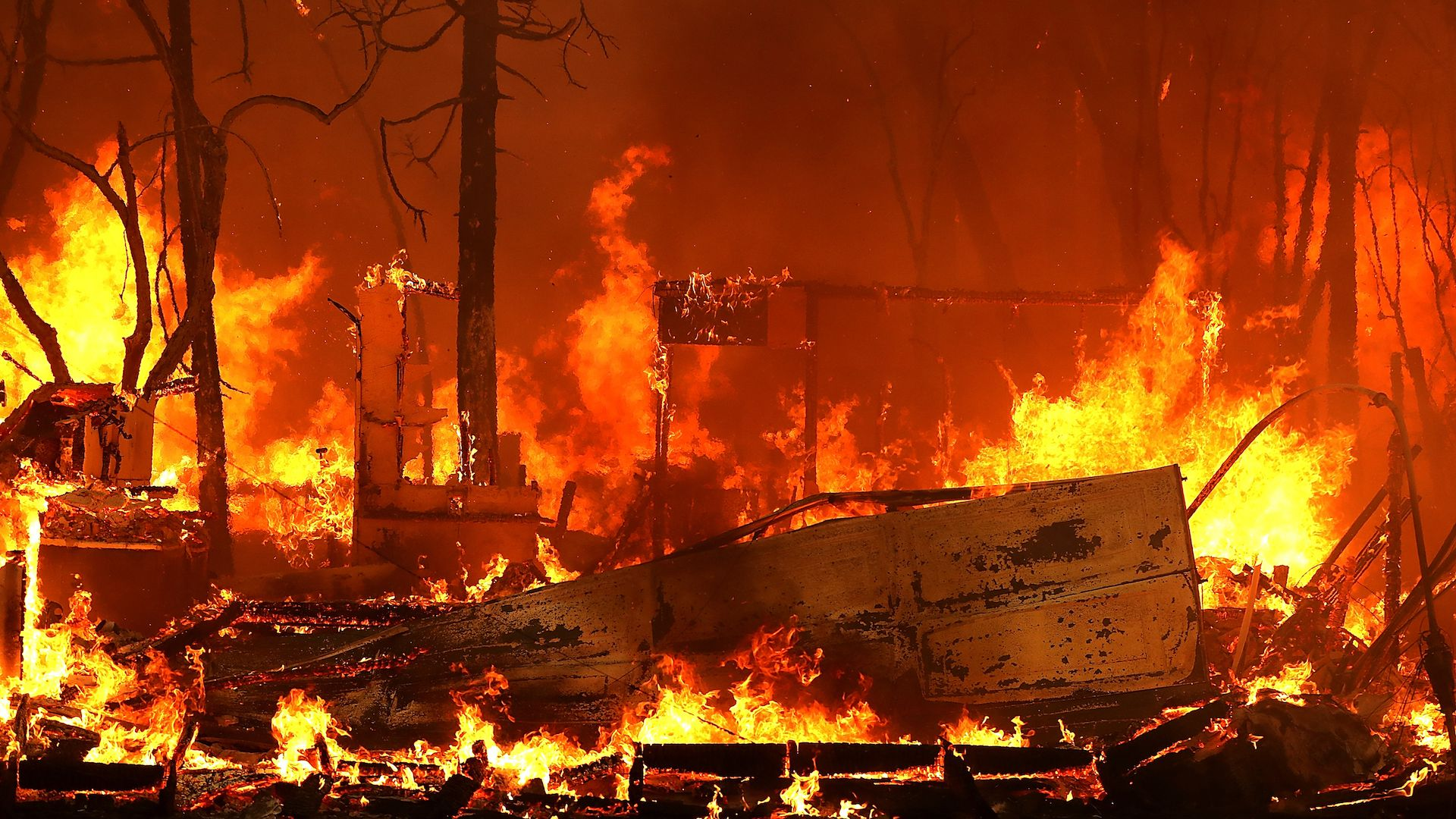 California's Camp Fire, which destroyed the town of Paradise, made state wildfire history Friday.