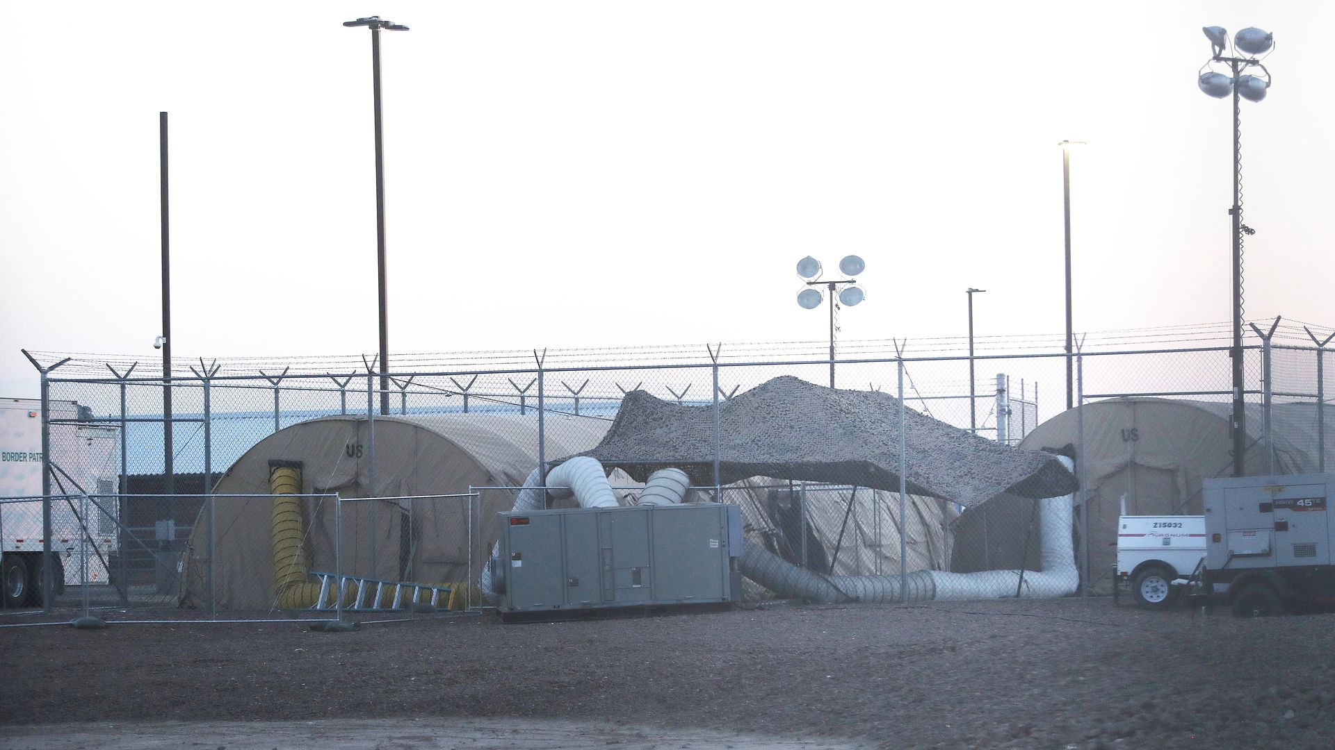 Migrant detention facility