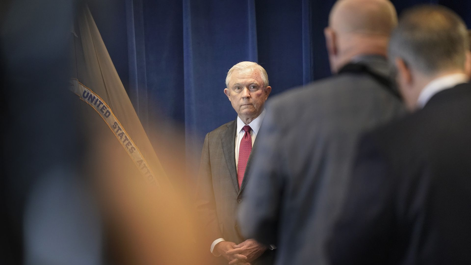 Attorney General Jeff Sessions. Photo: Gregory Rec/Portland Press Herald via Getty Images