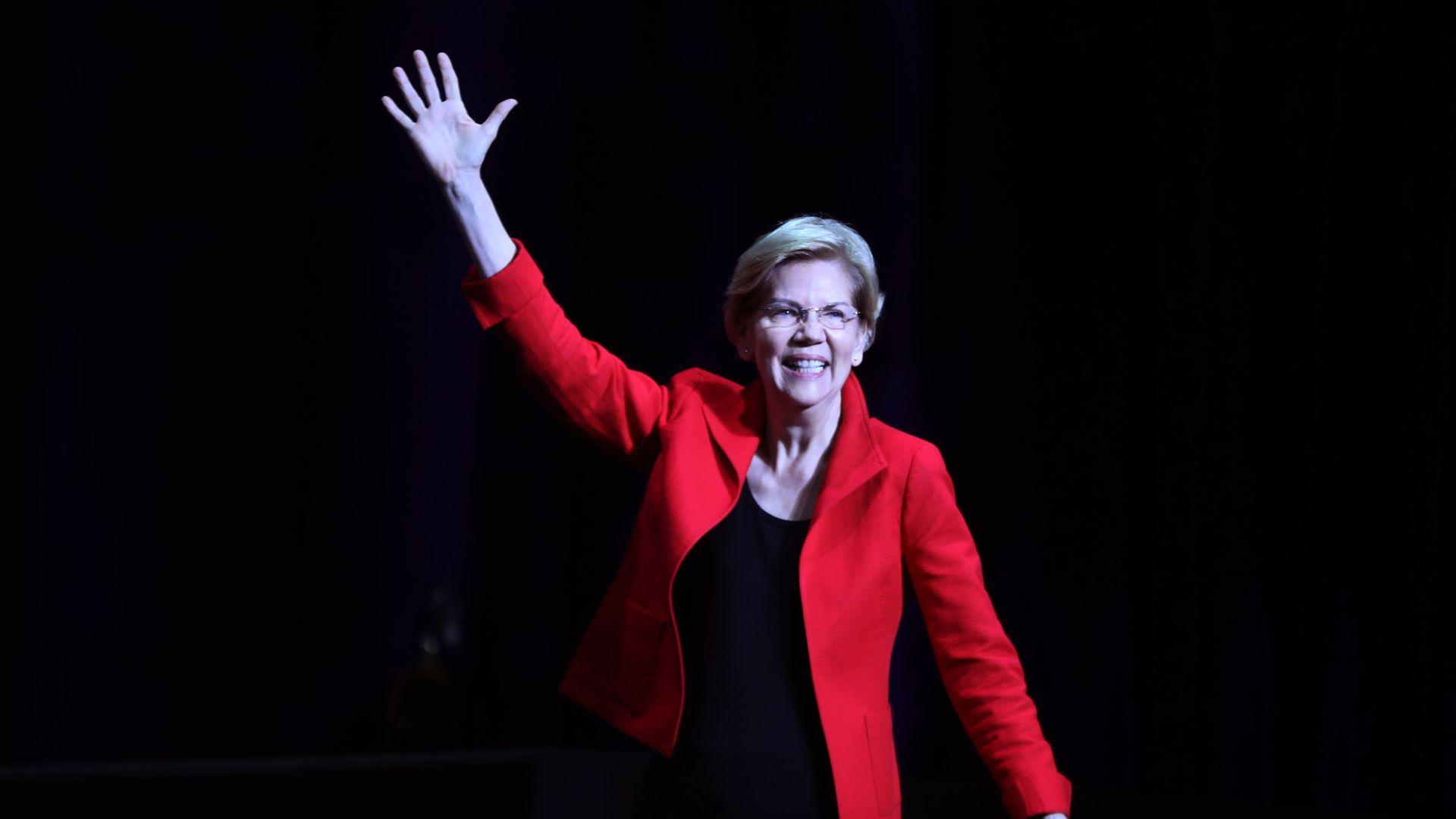 2020 Presidential candidate Sen. Elizabeth Warren (D-Mass.)