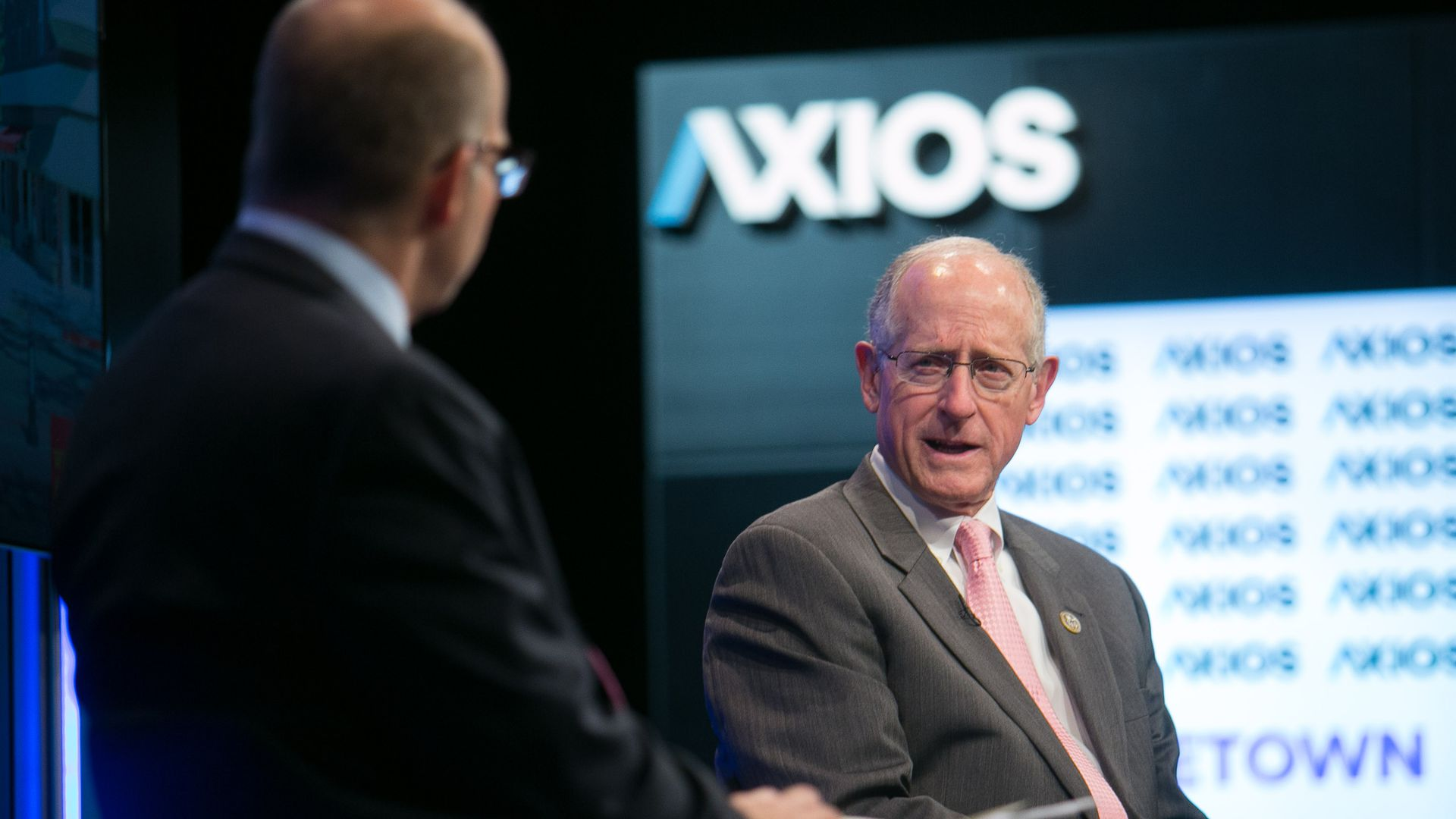 Rep. Mike Conaway at an Axios event