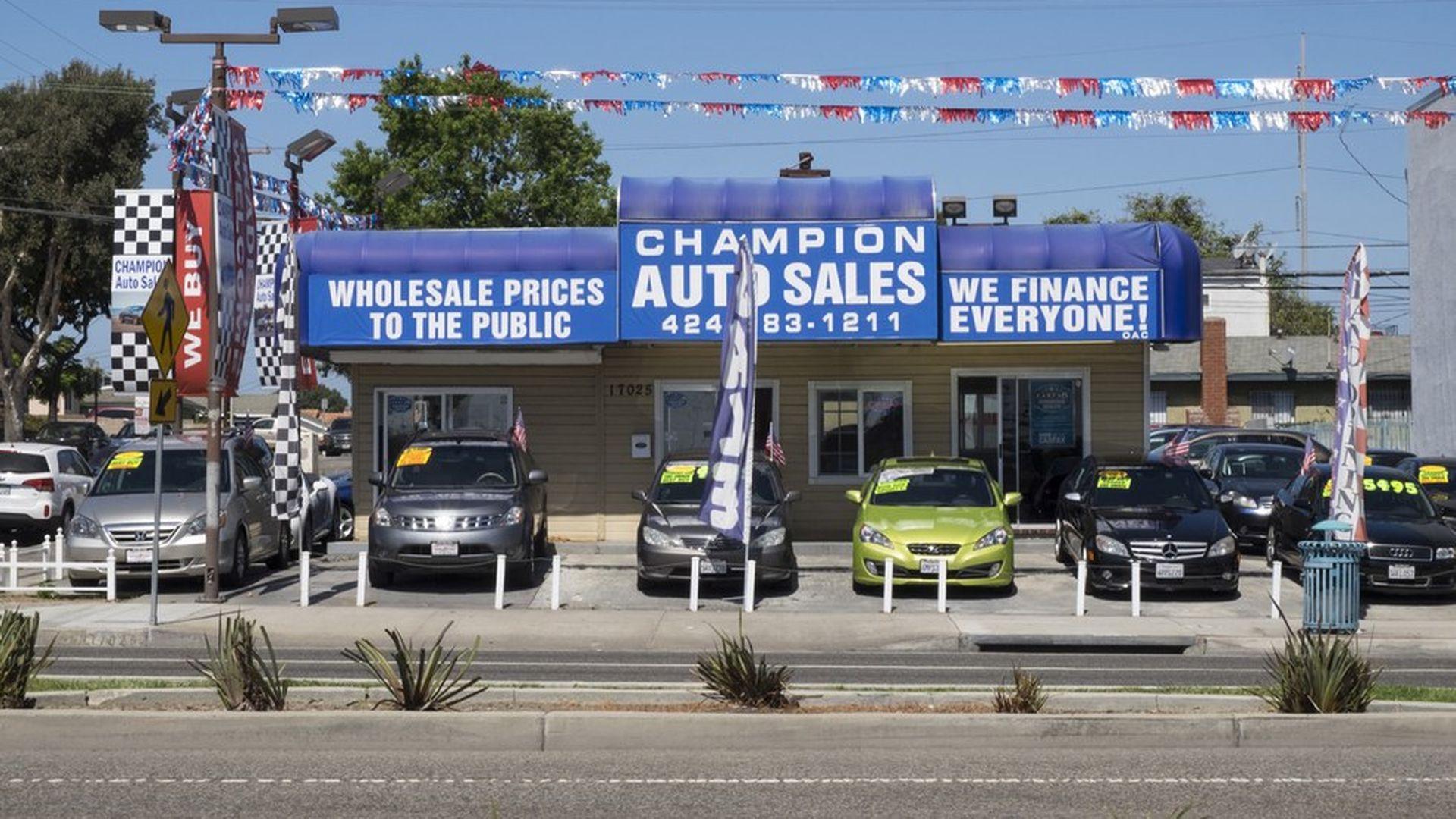 Subprime auto defaults are up, but this time it's no crisis