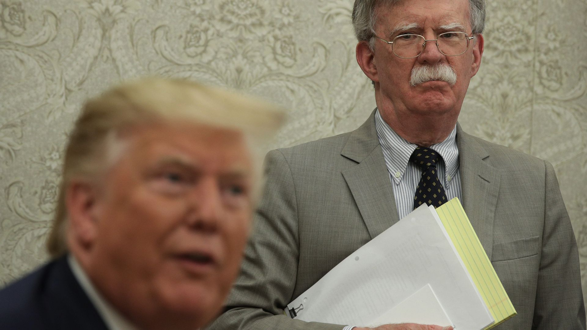 Trump Told Bolton Ukraine Aid Contingent on Probe Into Democratic Rivals