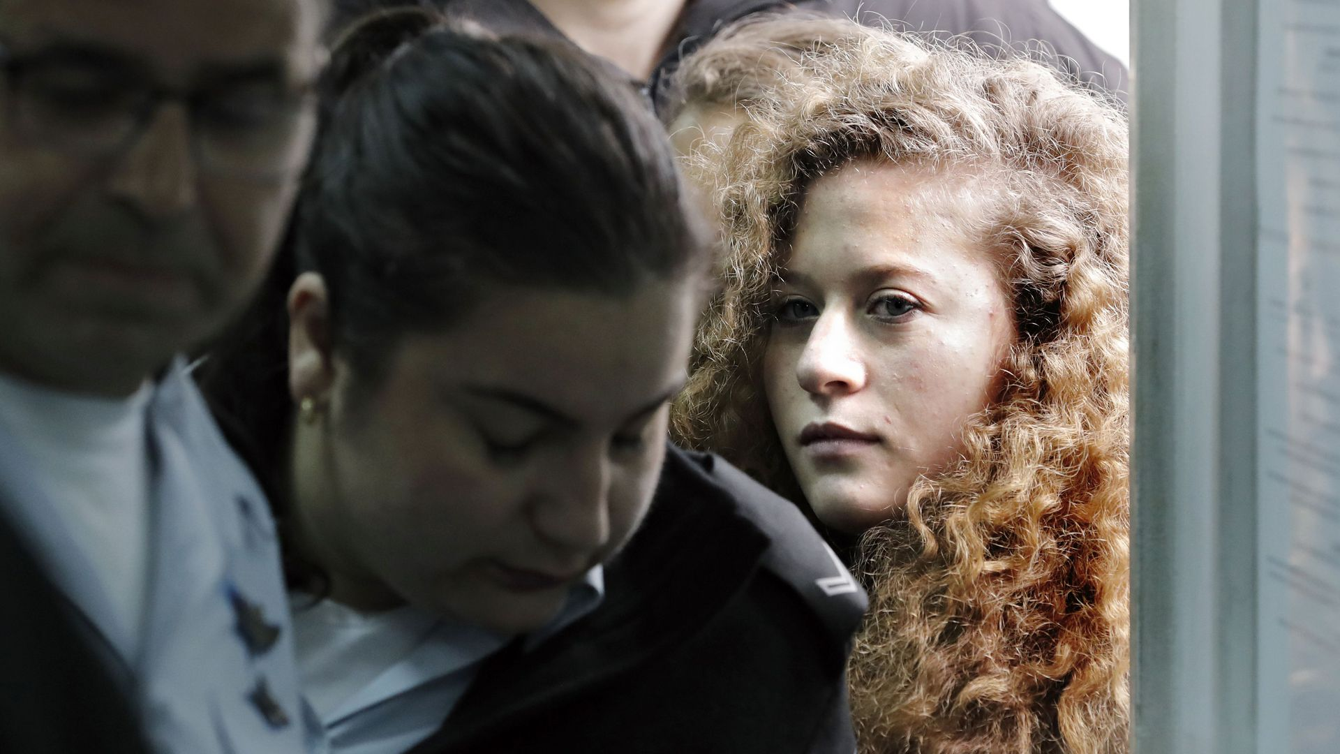 Palestinian teenager Ahed Tamimi