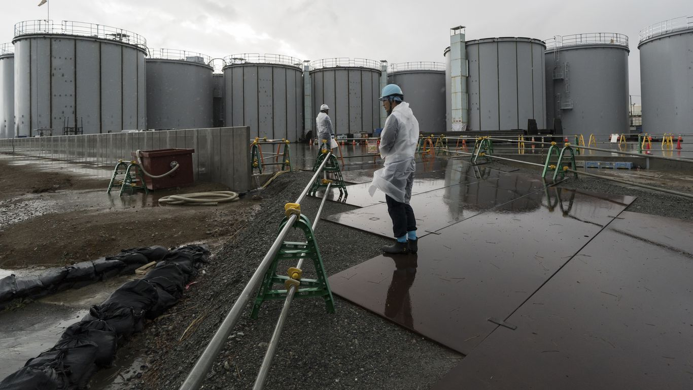 Japan to treat and release water contaminated in Fukushima disaster into sea thumbnail