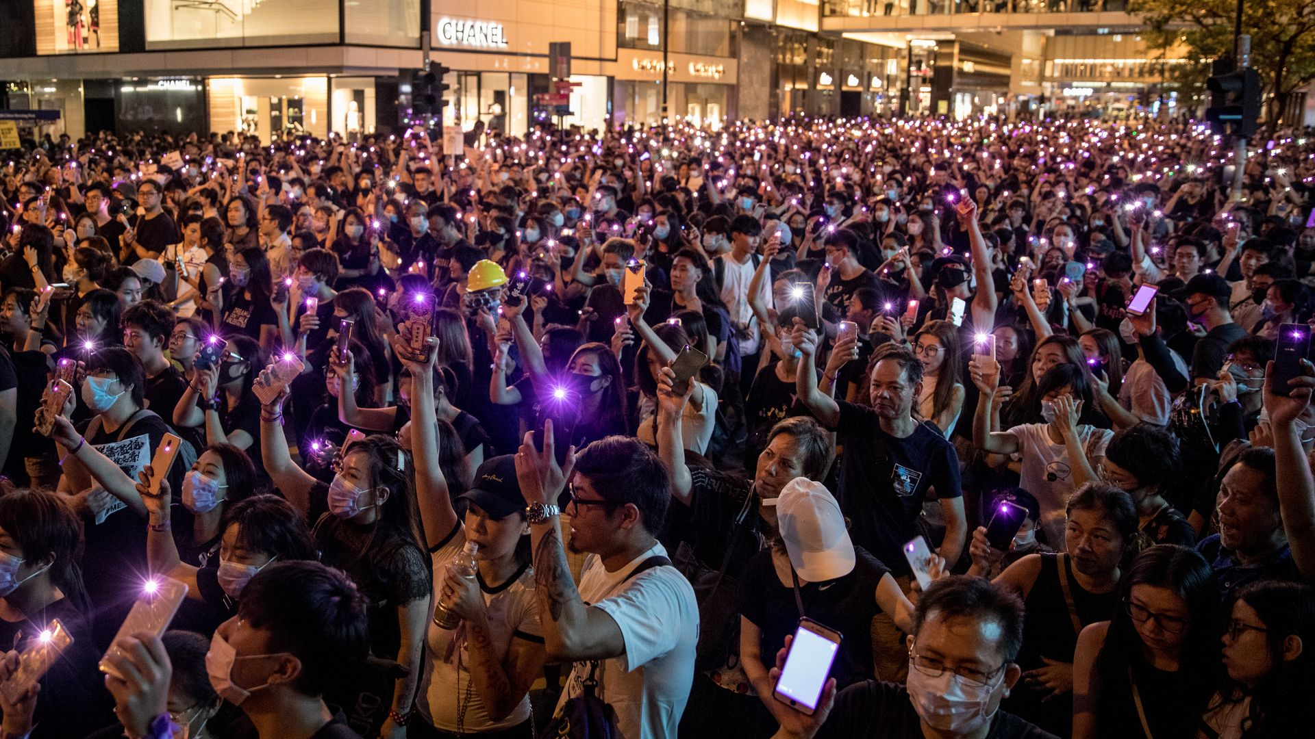 Thousands join Hong Kong MeToo rally against police as Chinese troops cause unease