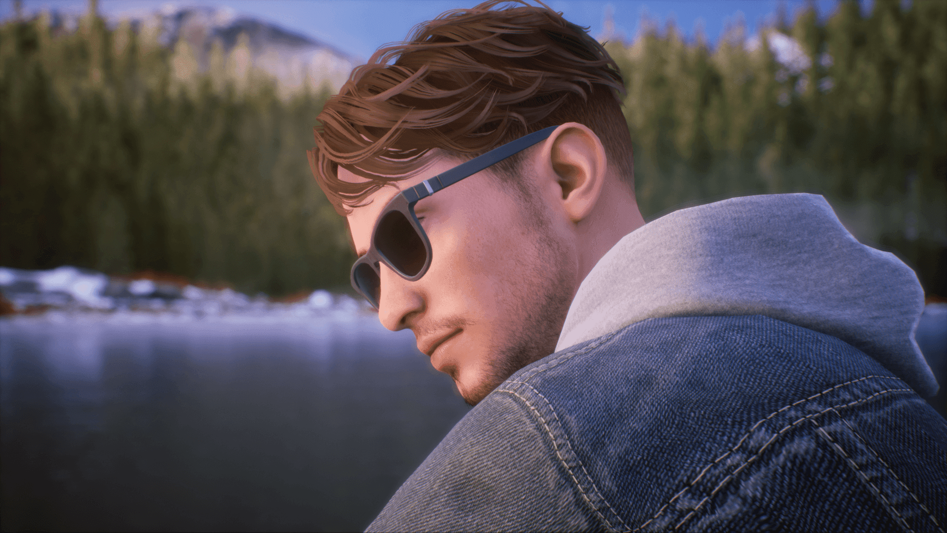 """Tyler, a transgender guy, is one of two playable characters in the forthcoming Xbox game """"Tell Me Why."""" Image: Microsoft/DONTNOD Entertainment"""