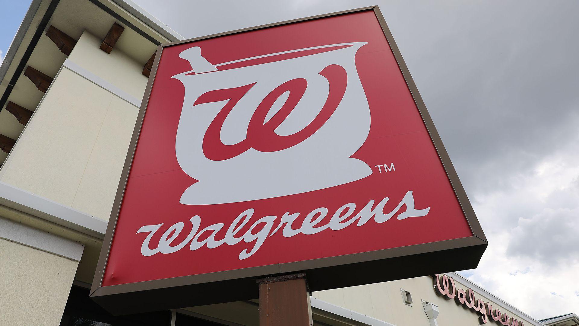 The Walgreens symbol.