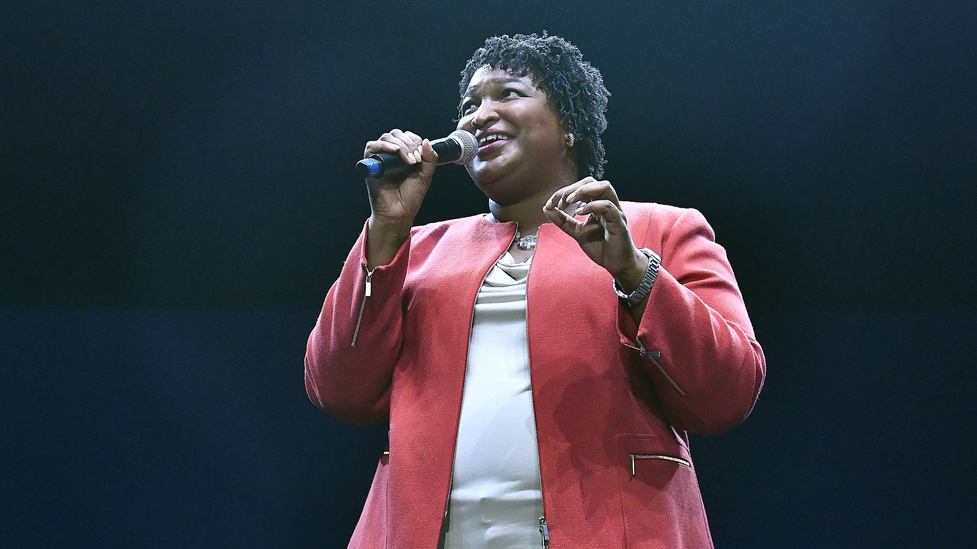 Stacey Abrams democratic cadidate for georgia governor.