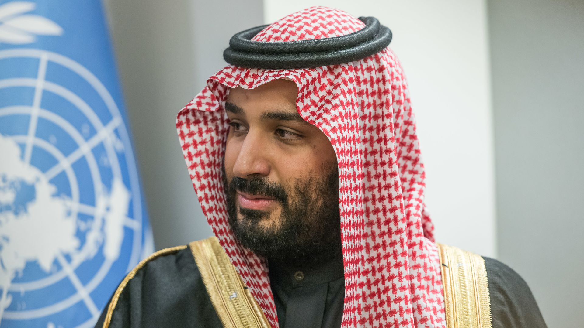 Mohammed bin Salman at the UN