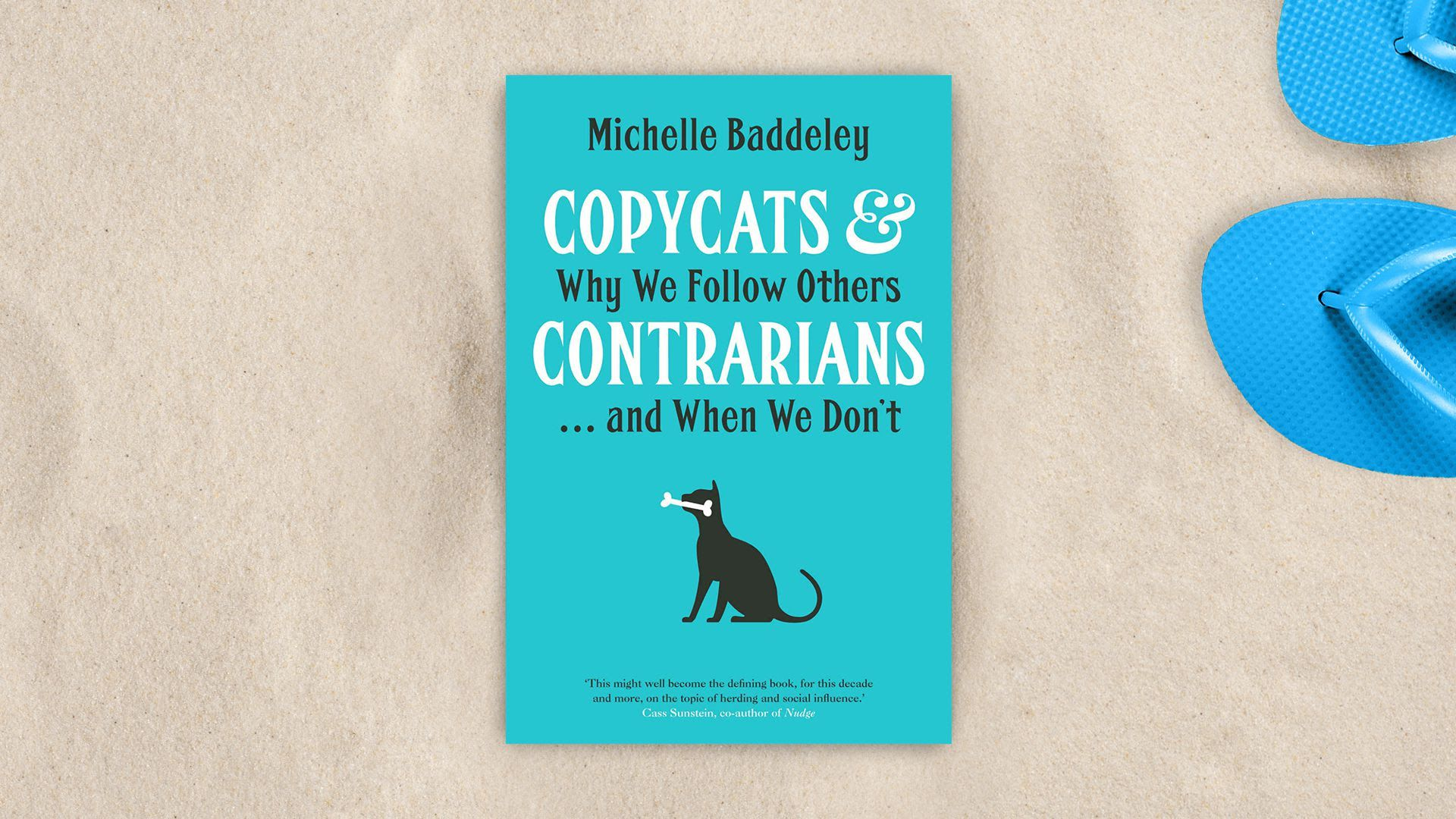 "Cover of ""Copycats and Contrarians: Why We Follow Others ... and When We Don't"""