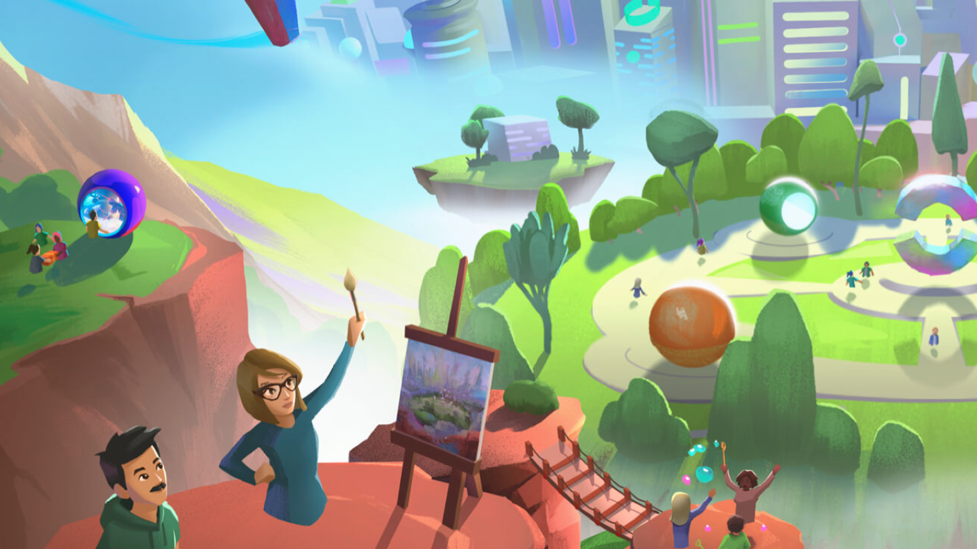 facebook virtual realty