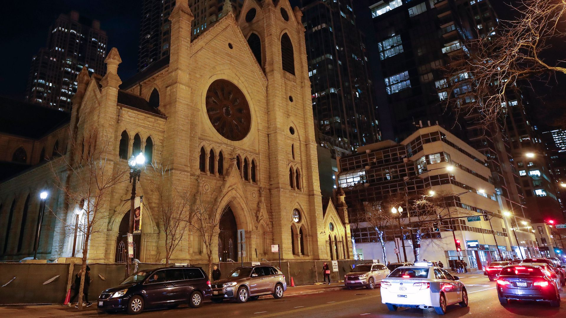 The Holy Name Cathedral in Chicago