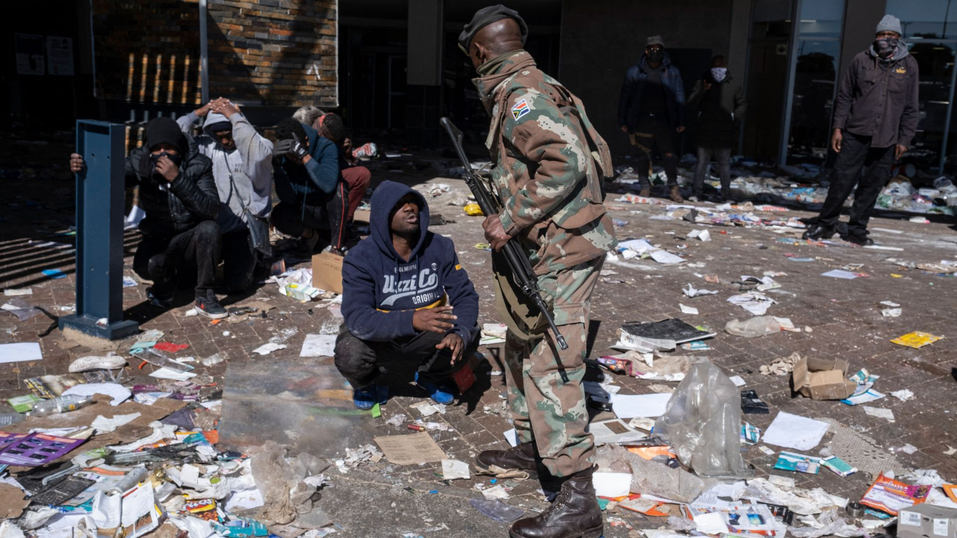 Death toll in South Africa riots rises to 72 - Axios