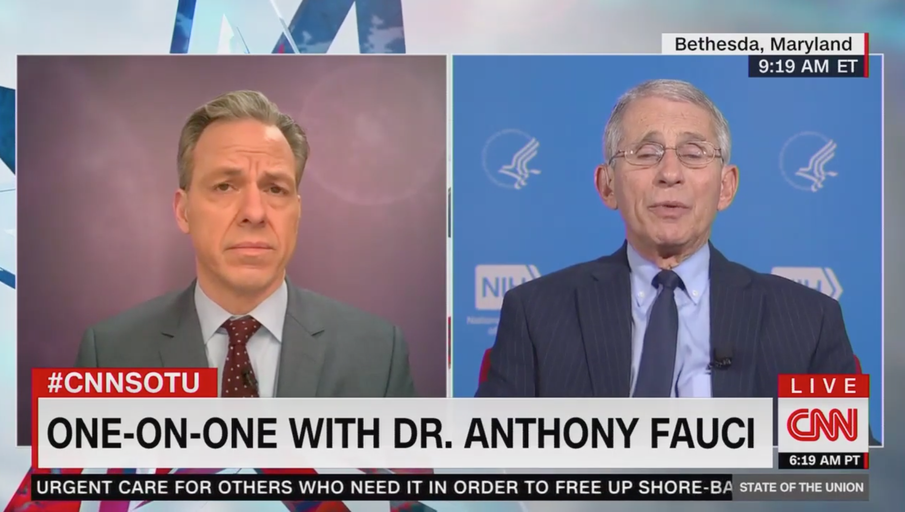 Fauci says 100,000 to 200,000 Americans could die from coronavirus