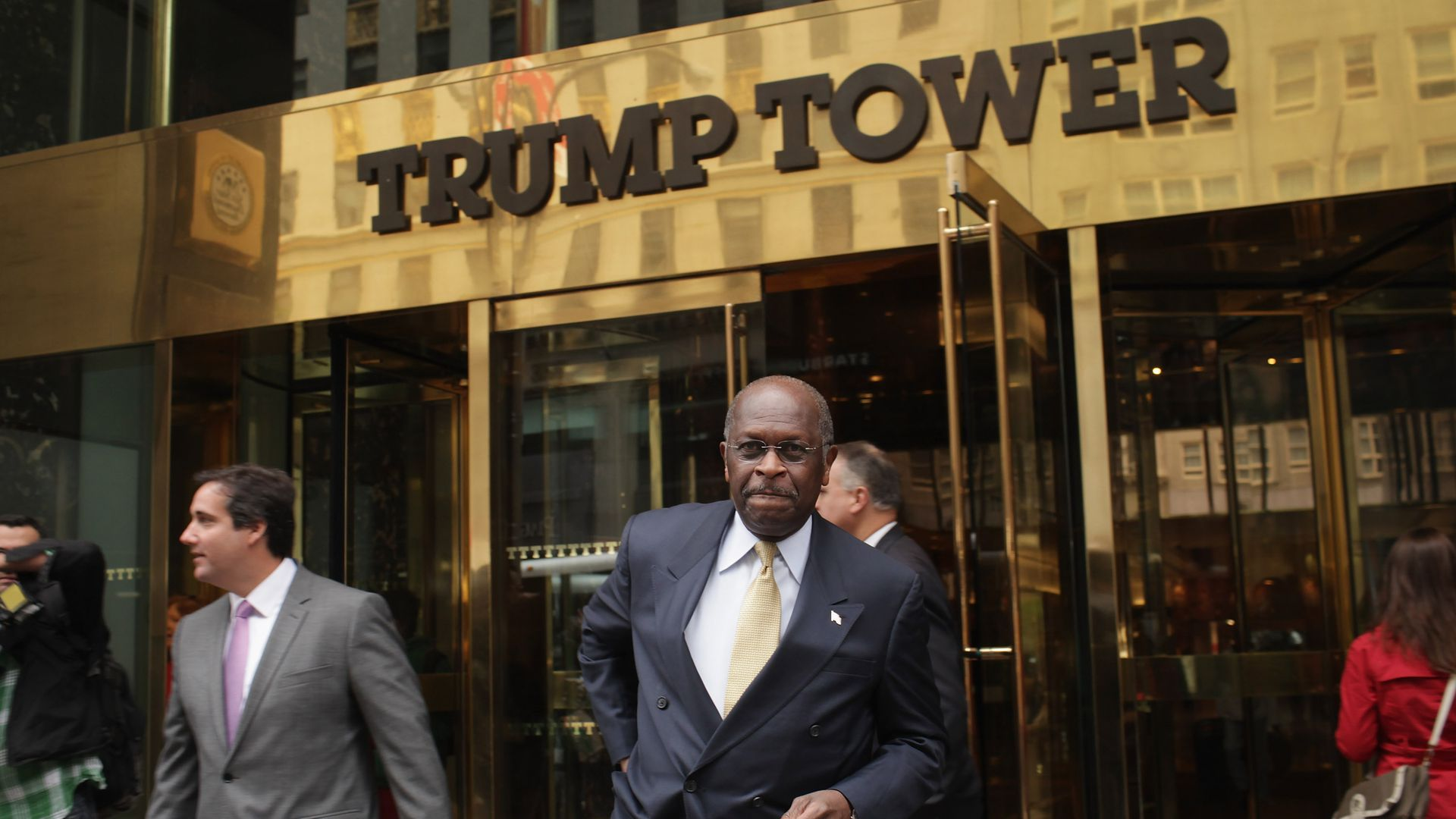 Trump considers Herman Cain, Stephen Moore for seats on the Fed board