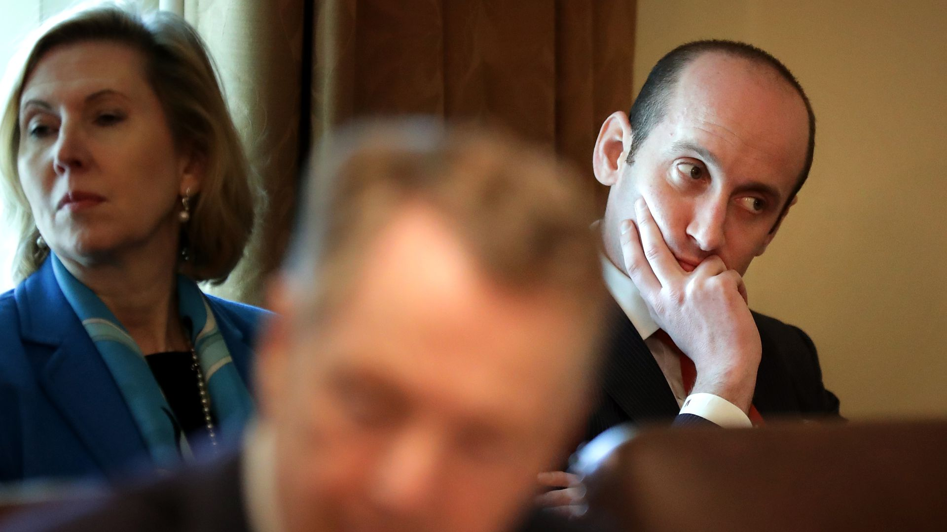 Senior White House Aide Stephen Miller