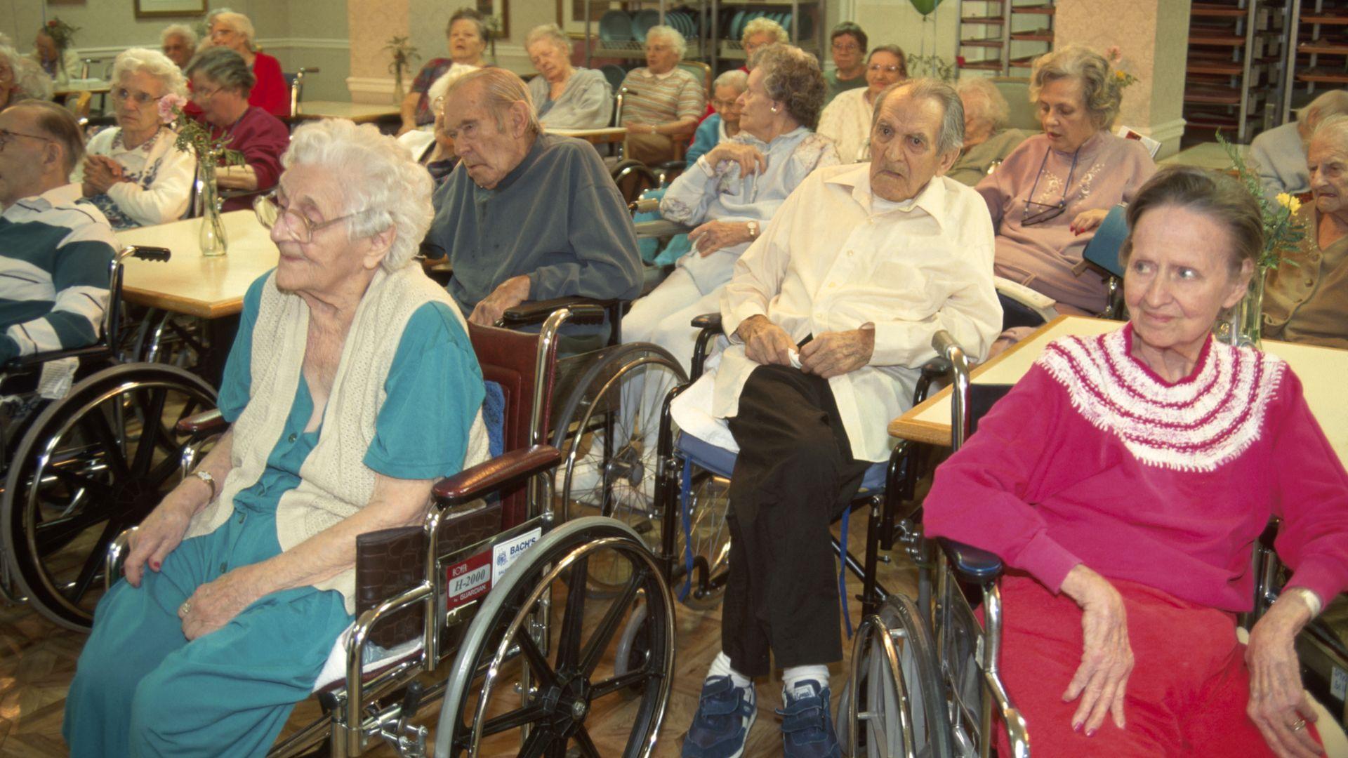 New Jersey, Morristown, nursing home residents