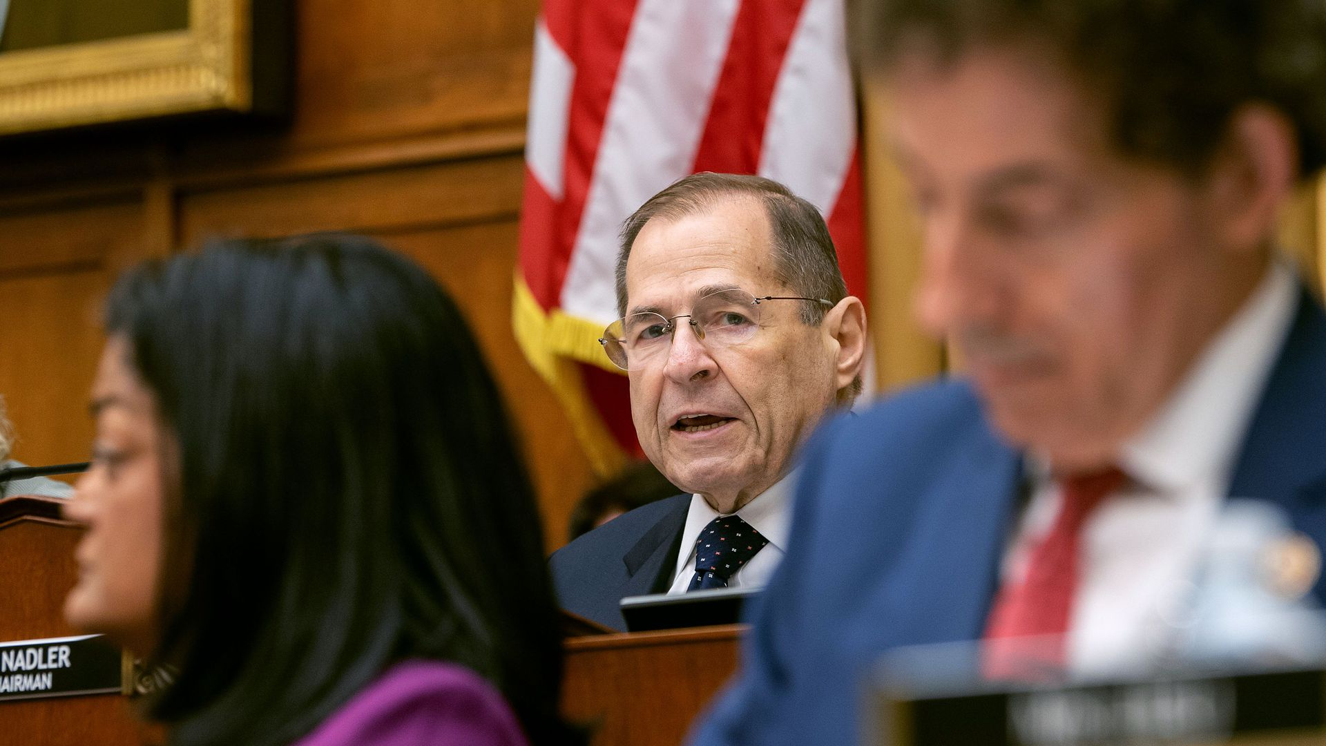 House Judiciary Committee chairman Rep. Jerold Nadler (D-NY)