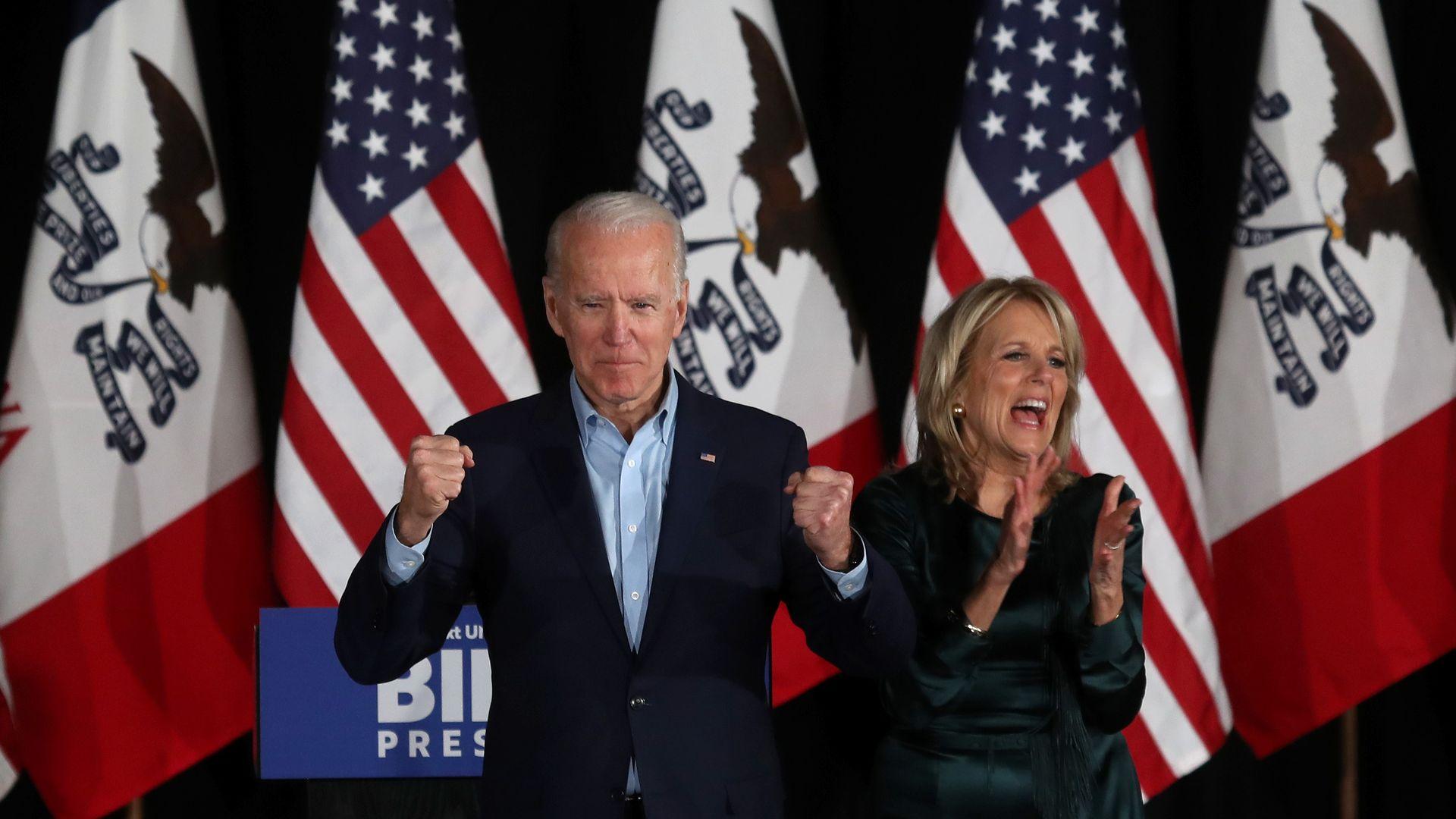 Biden Endorsed For President By Caroline Kennedy Axios