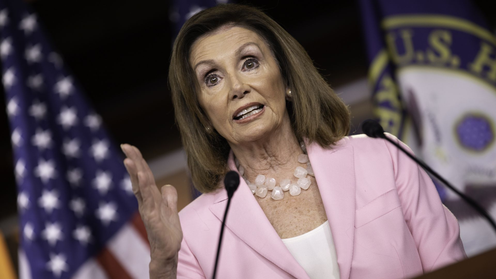 Nancy Pelosi: Congress should allow sitting presidents to be indicted