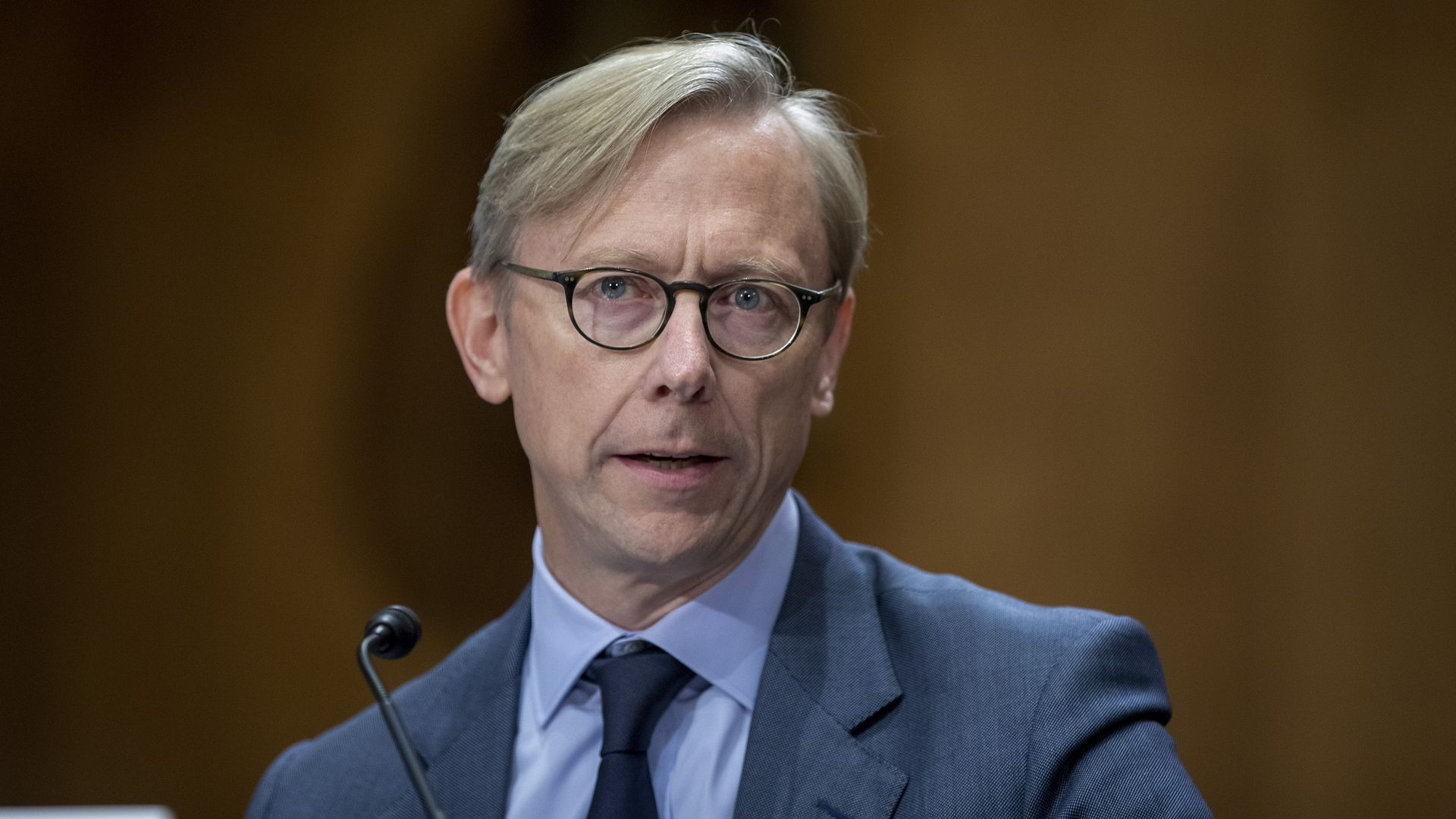 U.S. envoy to Iran Brian Hook