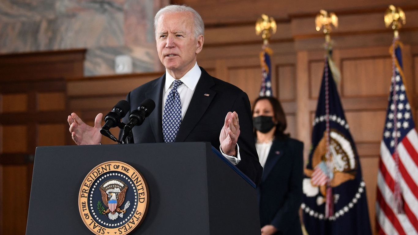 """Biden addresses anti-Asian violence: """"Our silence is our complicity"""" thumbnail"""