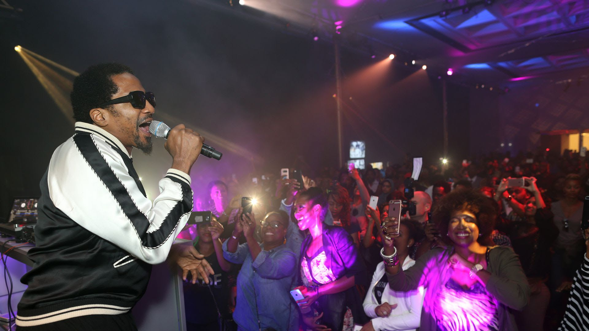 Q-Tip performs at the Kennedy Center on Oct. 6.
